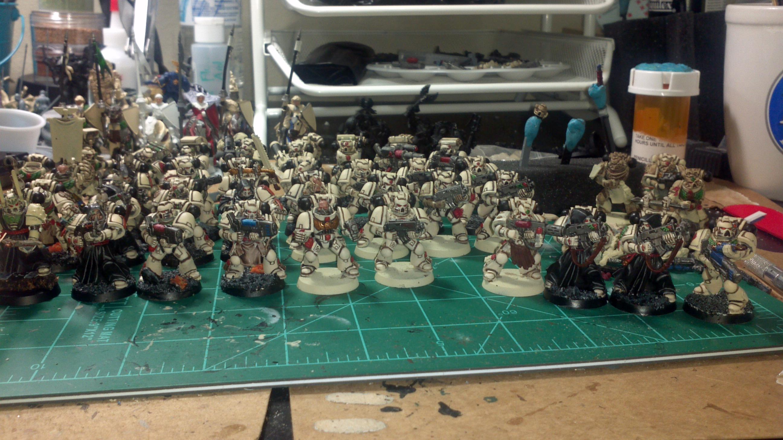 Third squad - not finished, got a couple of special weapons already though