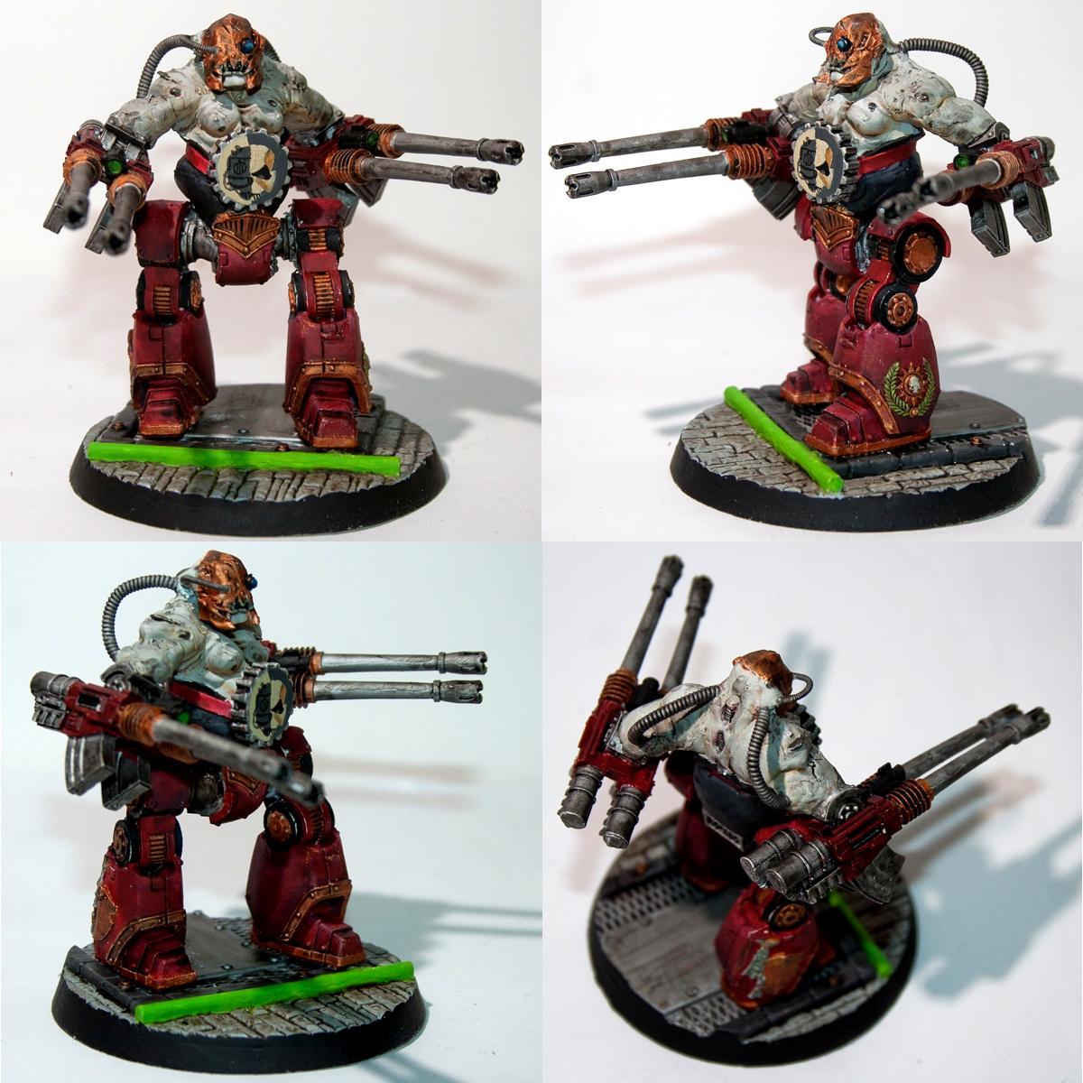 Adeptus Mechanicus, Admech, Contemptor, Conversion, Games Workshop, Ogre Bits, Ogres, Space Marine Bits, Warhammer 40,000