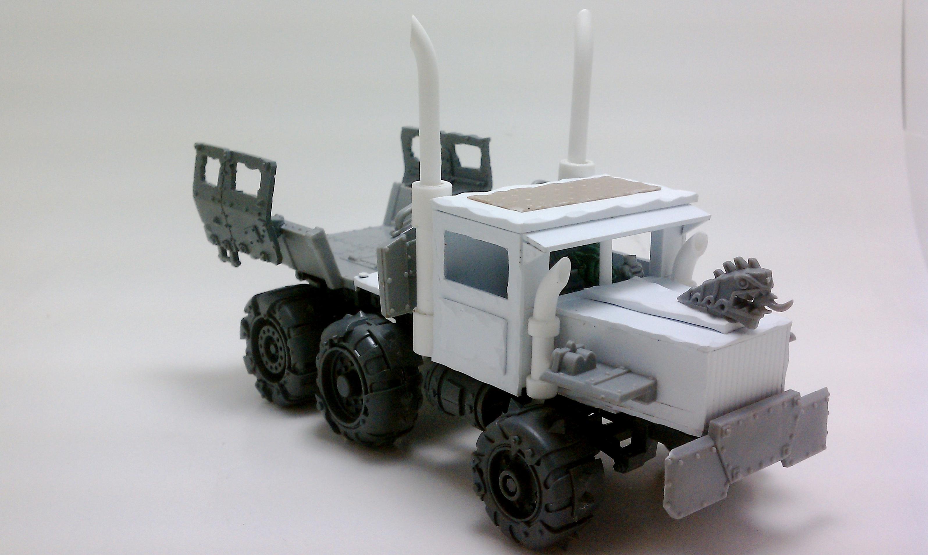 Ork Semi-Trukk WIP 3