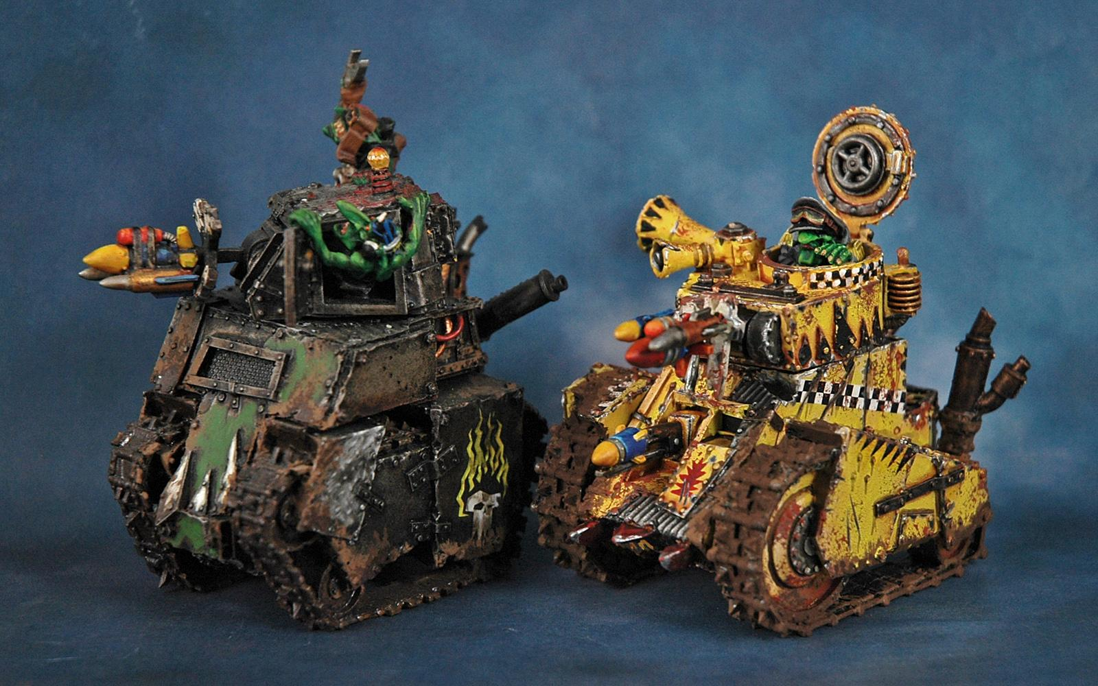 Bad Moons, Forge World, Grot Tanks, Orks, Warhammer 40,000