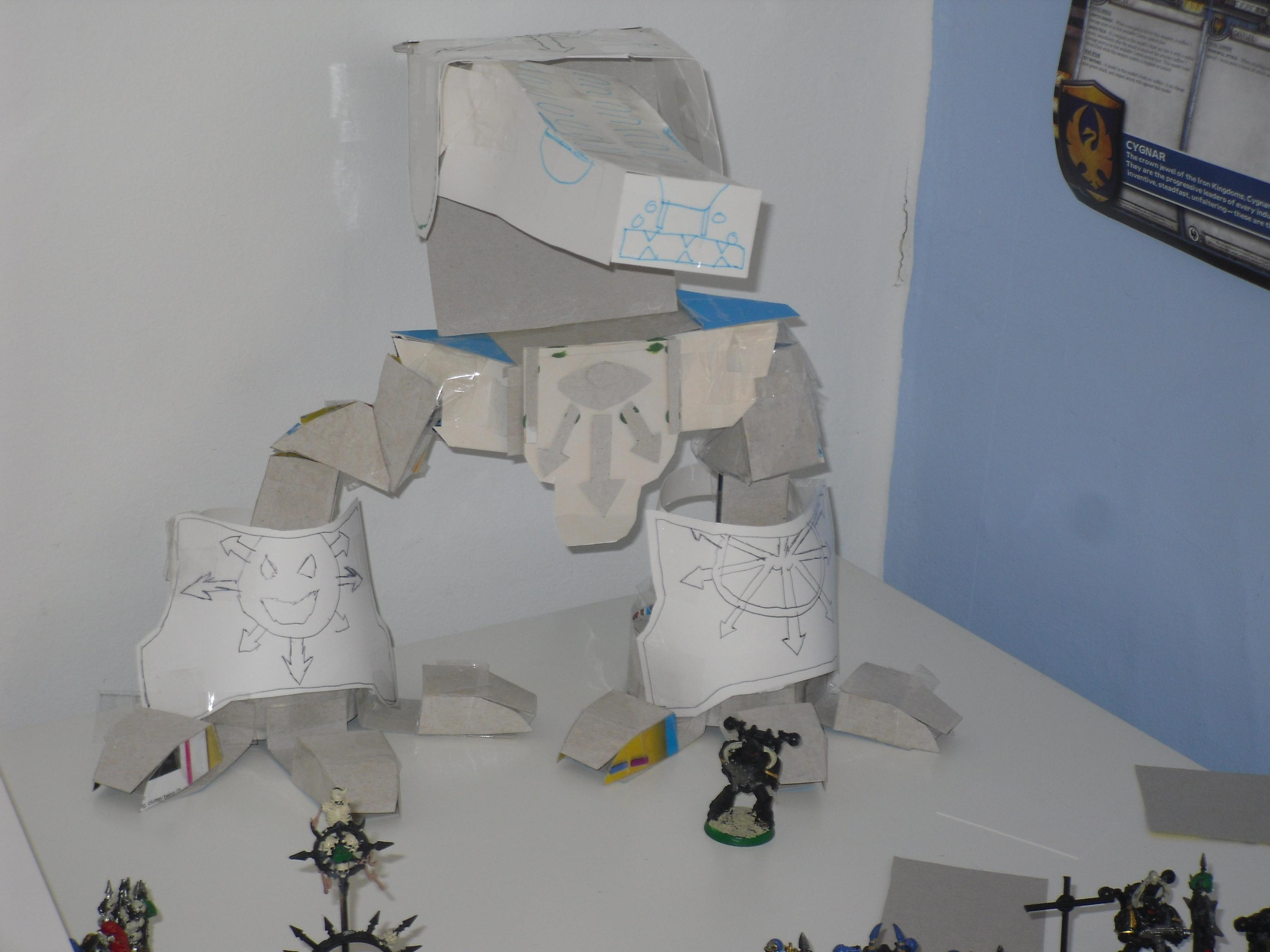 Titan, Warhound, Full model (without detail on legs)