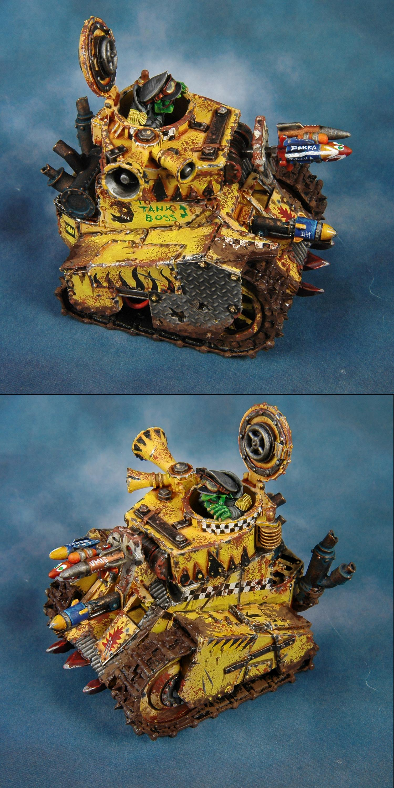 Bad Moons, Forge World, Grot Tank, Orks, Warhammer 40,000