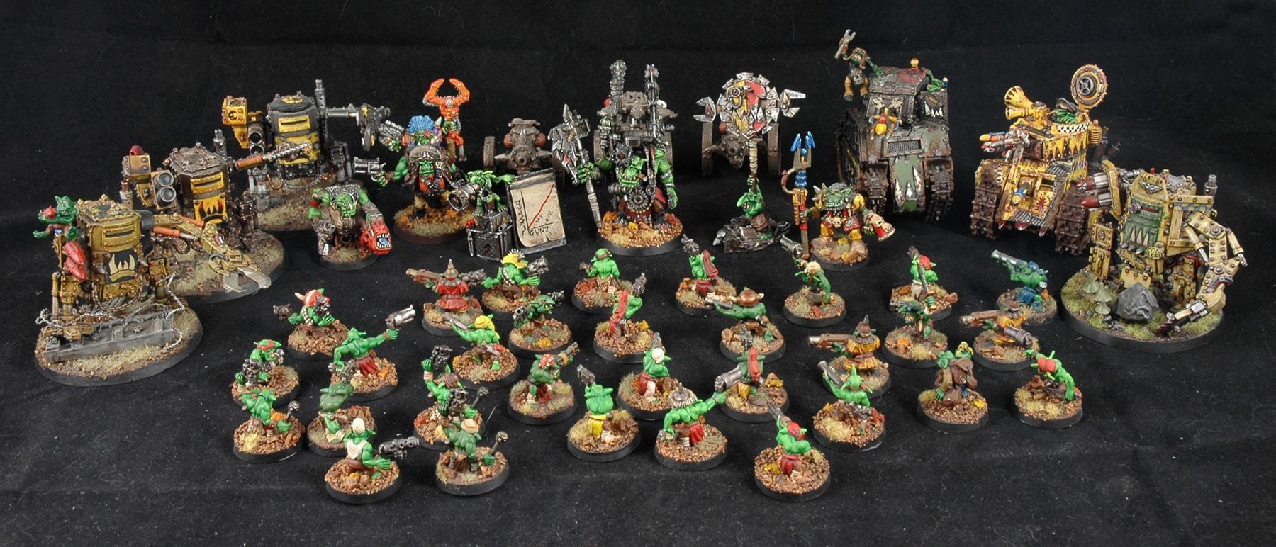 Army, Bad Moons, Gretchin, Grots, Orks, Warhammer 40,000