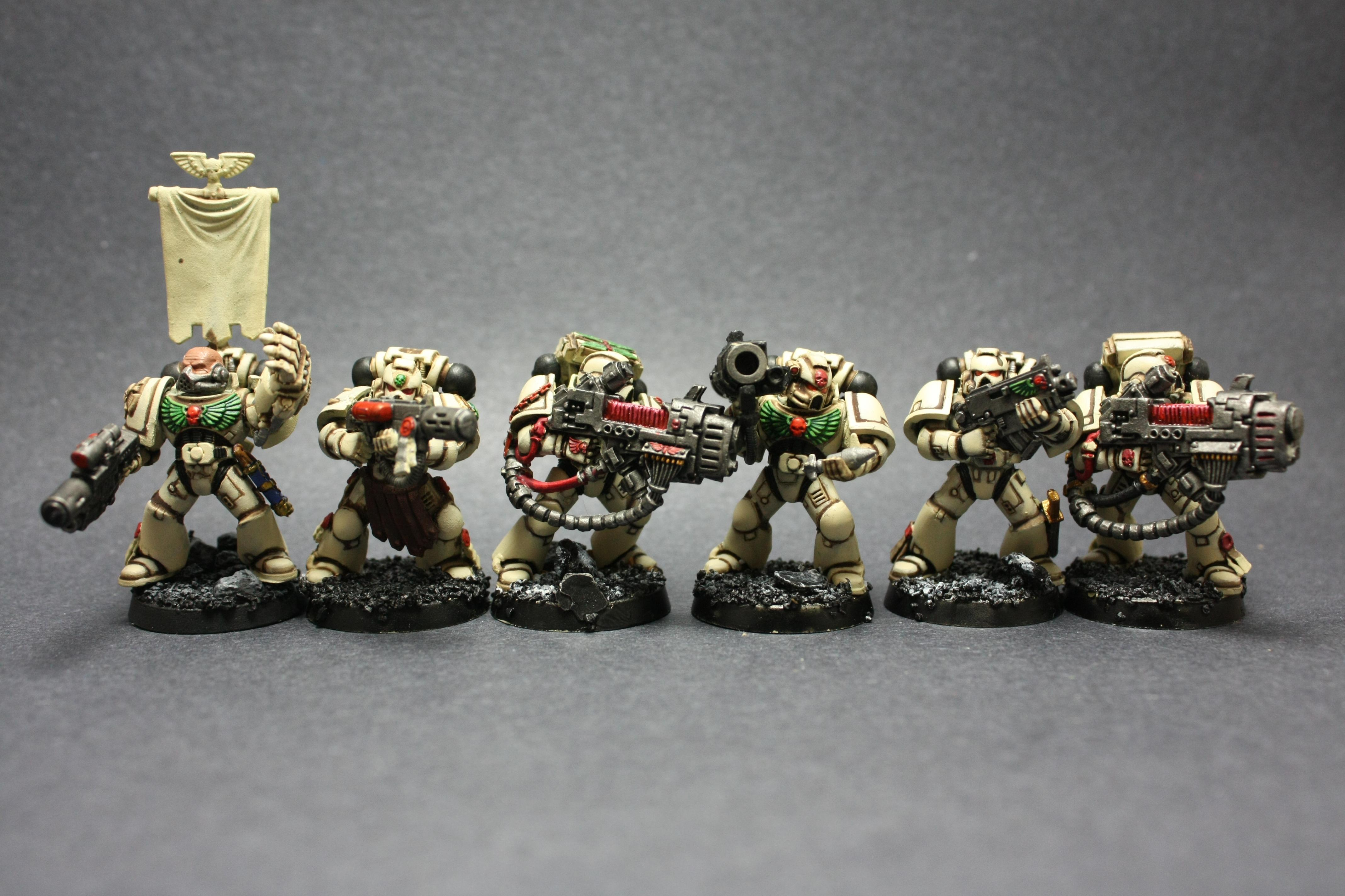Do you notice that the combi-melta is converted?