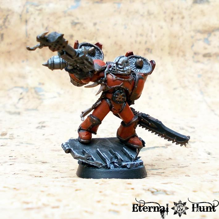 Assault, Chaos, Chaos Space Marines, Conversion, Harriers, Jump Infantry, Khorne, Raptors, Warhammer 40,000, World Eaters