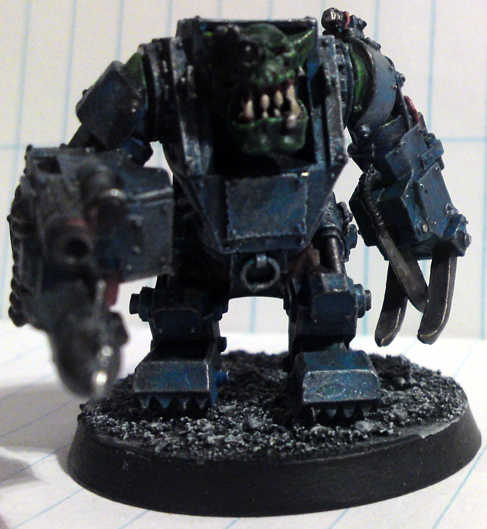 Armor, Mega, Nob. 40k, Ork Mega Nob 40k, Orks