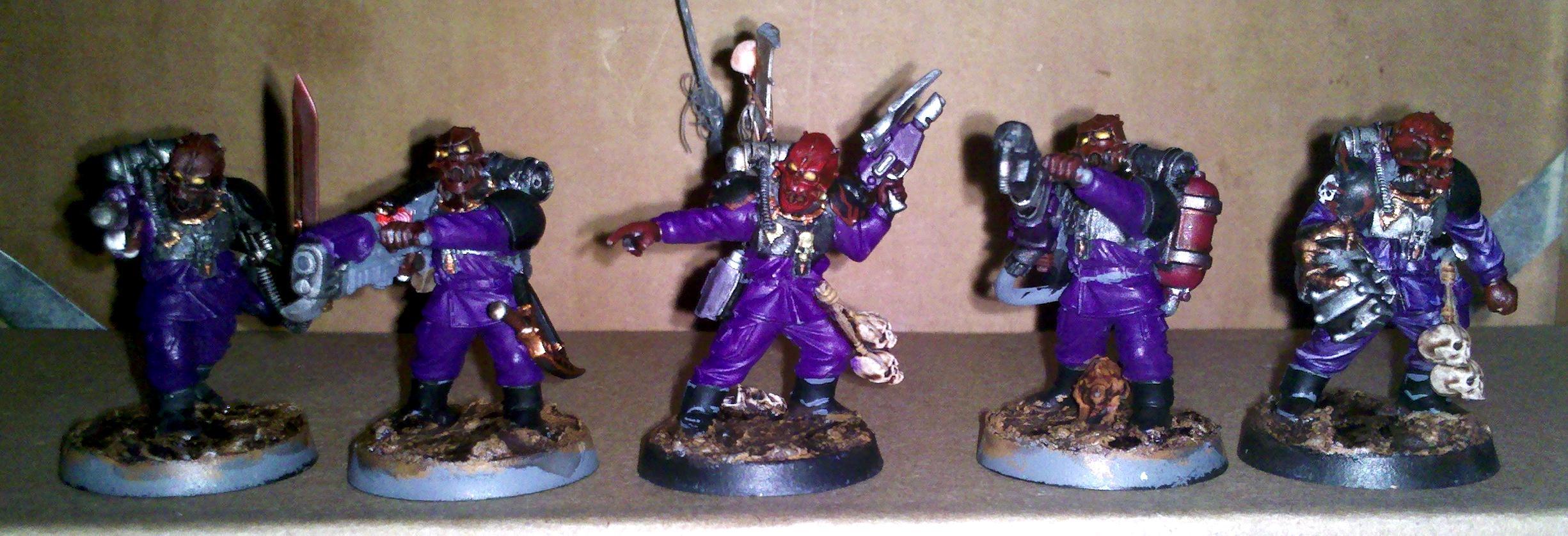 Grey Knights, Renegade Militia, Warhammer 40,000, Warrior Acolytes
