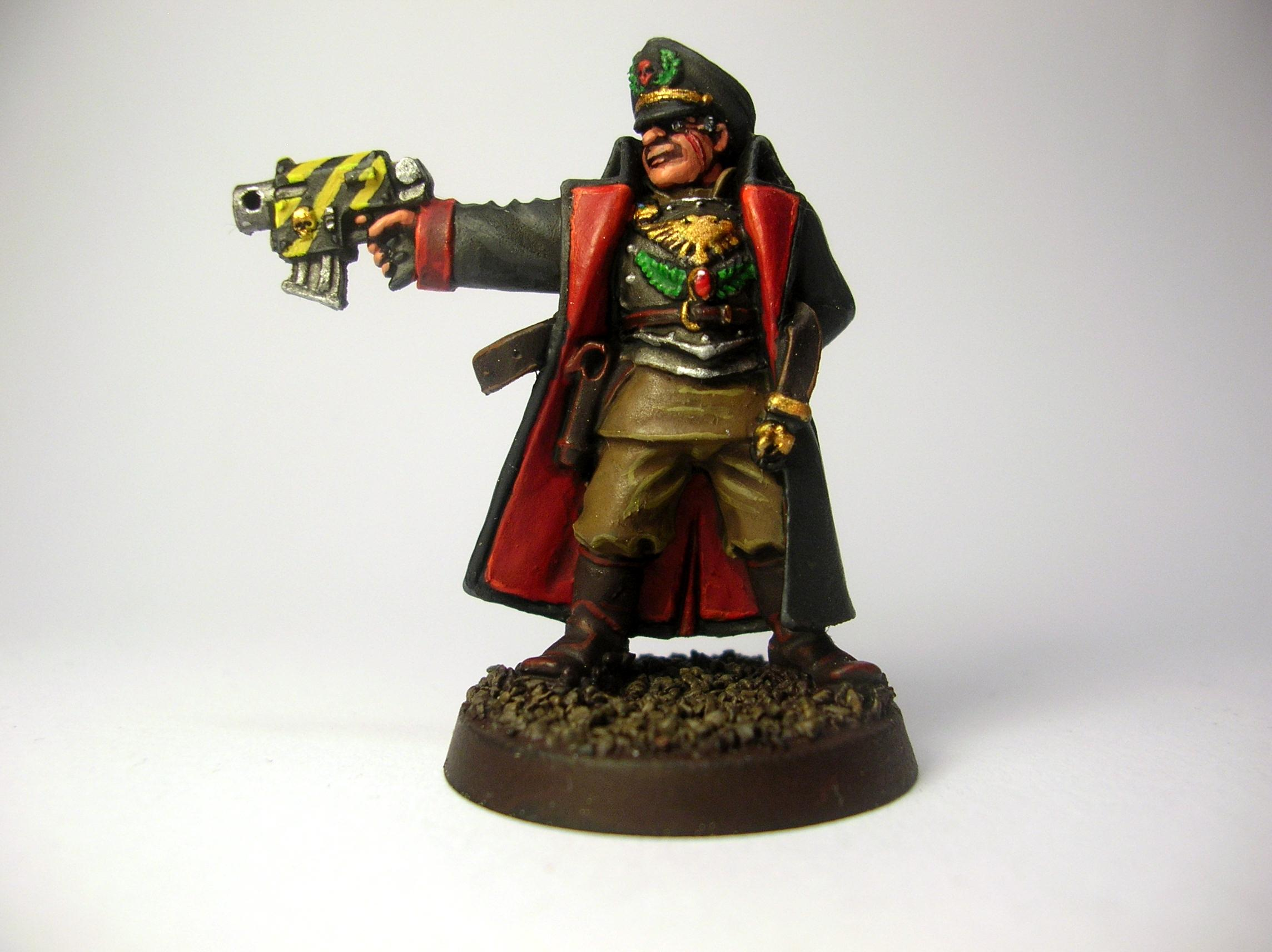 Commissar, Imperial Guard, Russians, Valhallans, Warhammer 40,000