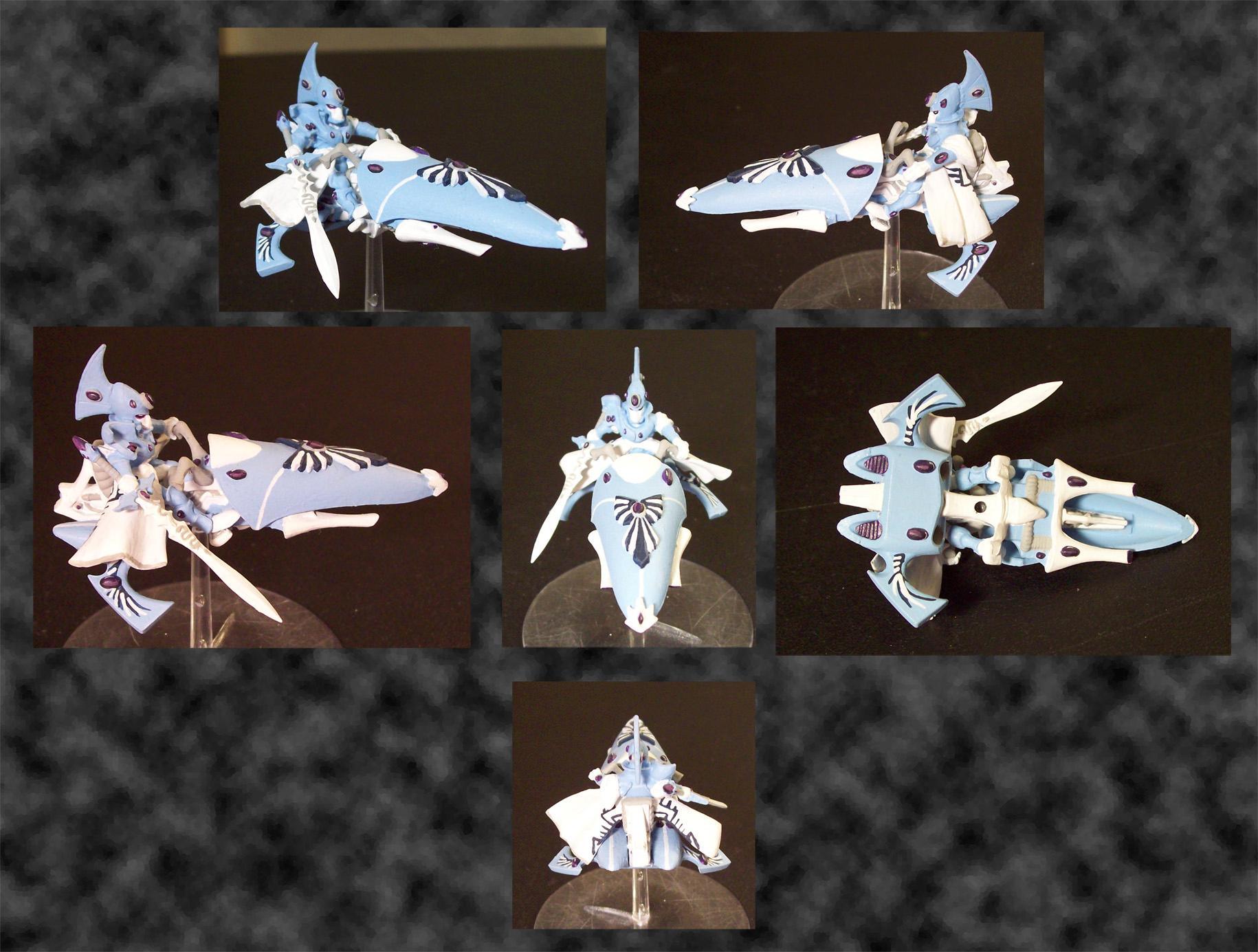 Blue, Bringer, Eldar, Farseer, Headquarters, Storm, Stormbringer, Warhammer Fantasy