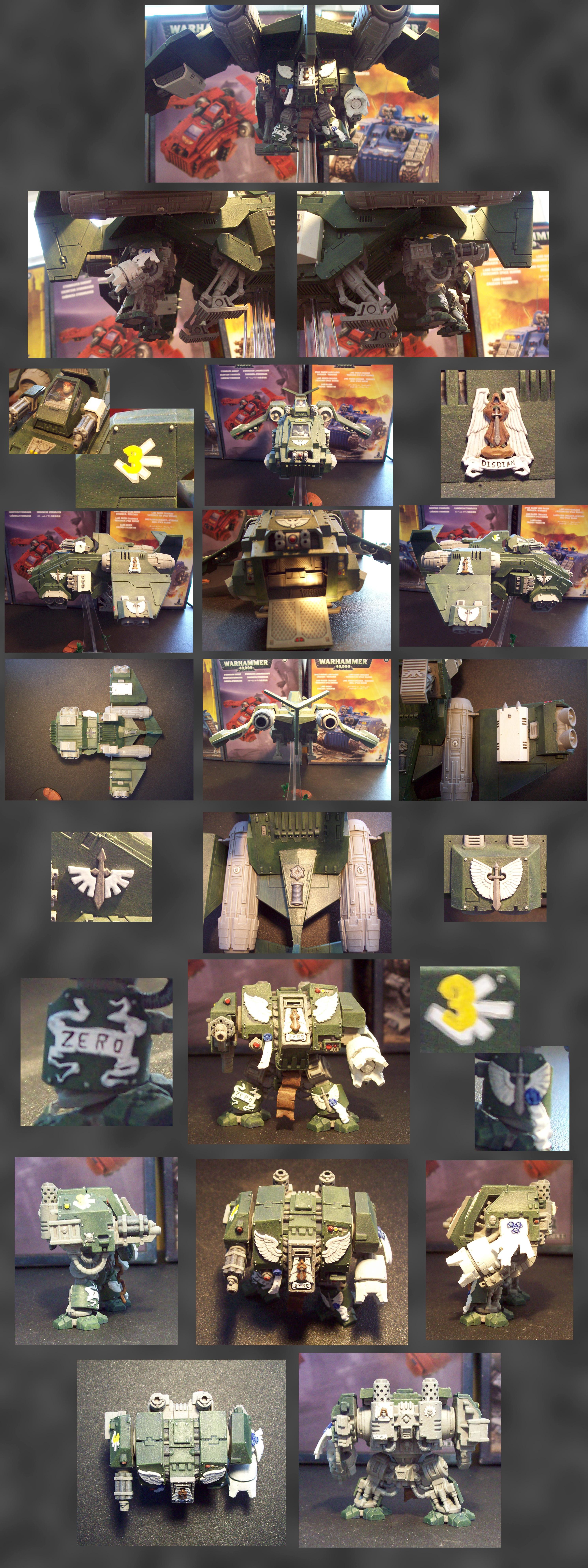 Custom, Disdain, Dreadnought, Grapple, Hang, Stormraven, Zero