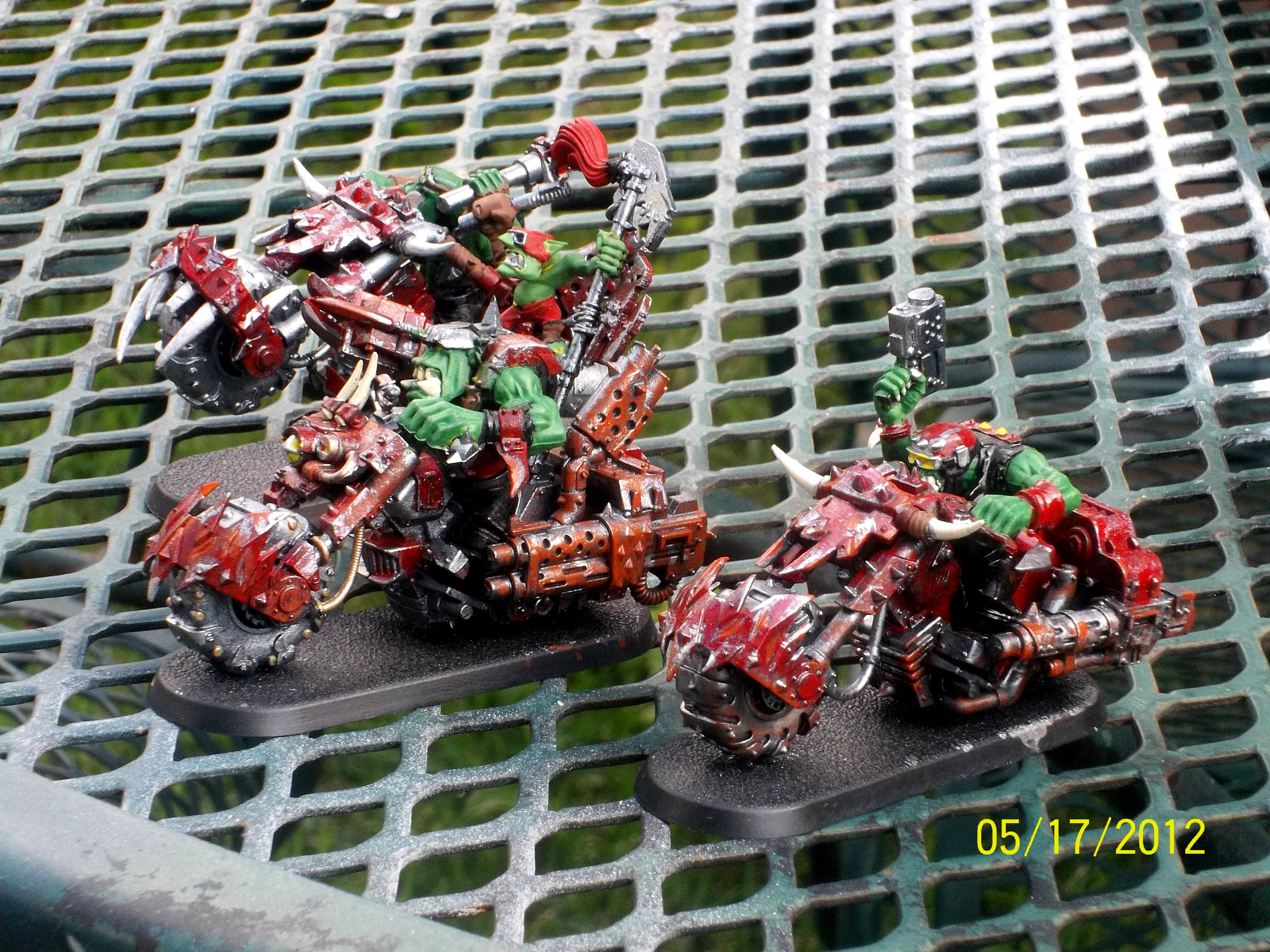 Warbikers, start of my warbike death star