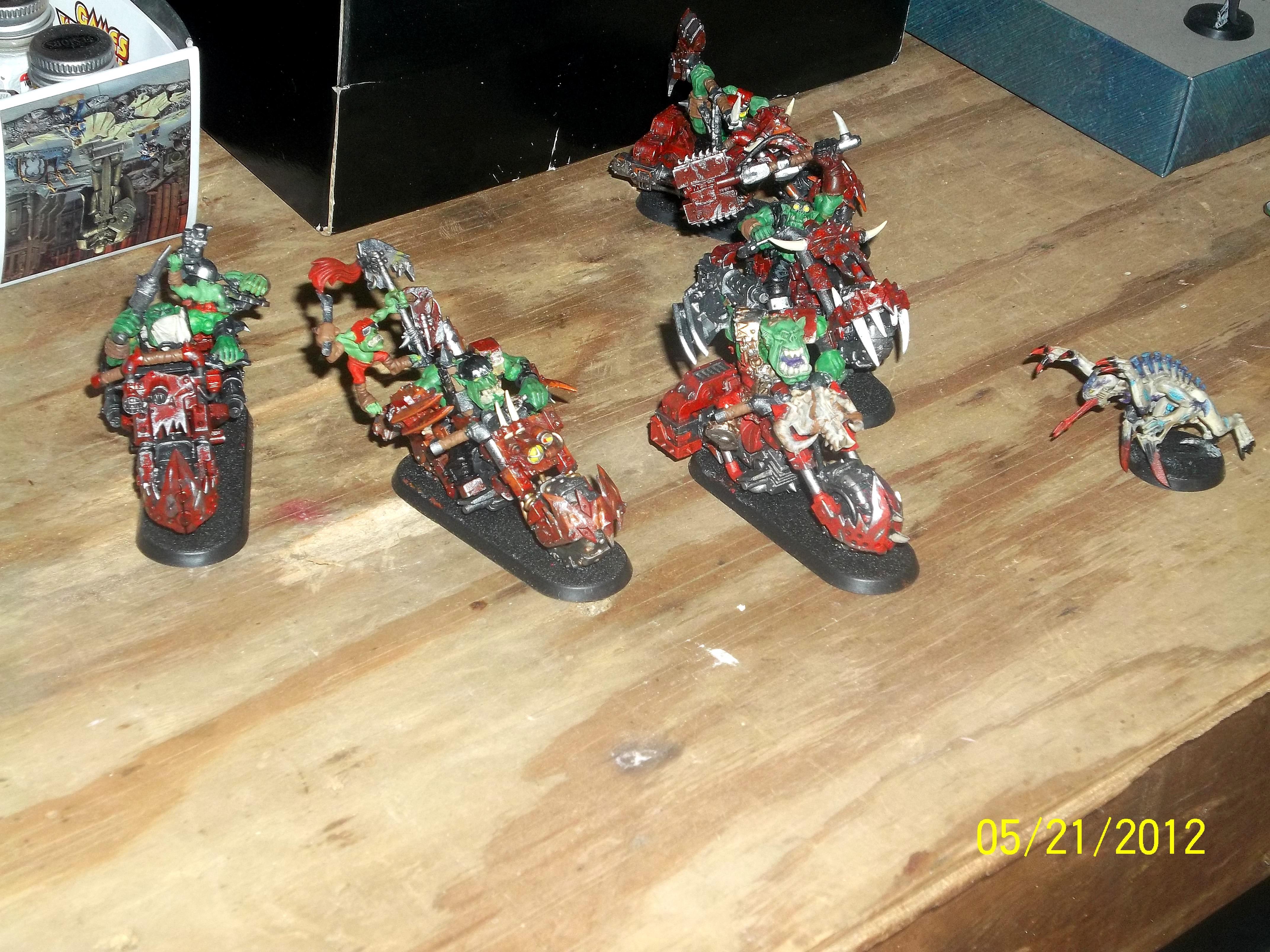Orks, Warbikers, poor poor stealer
