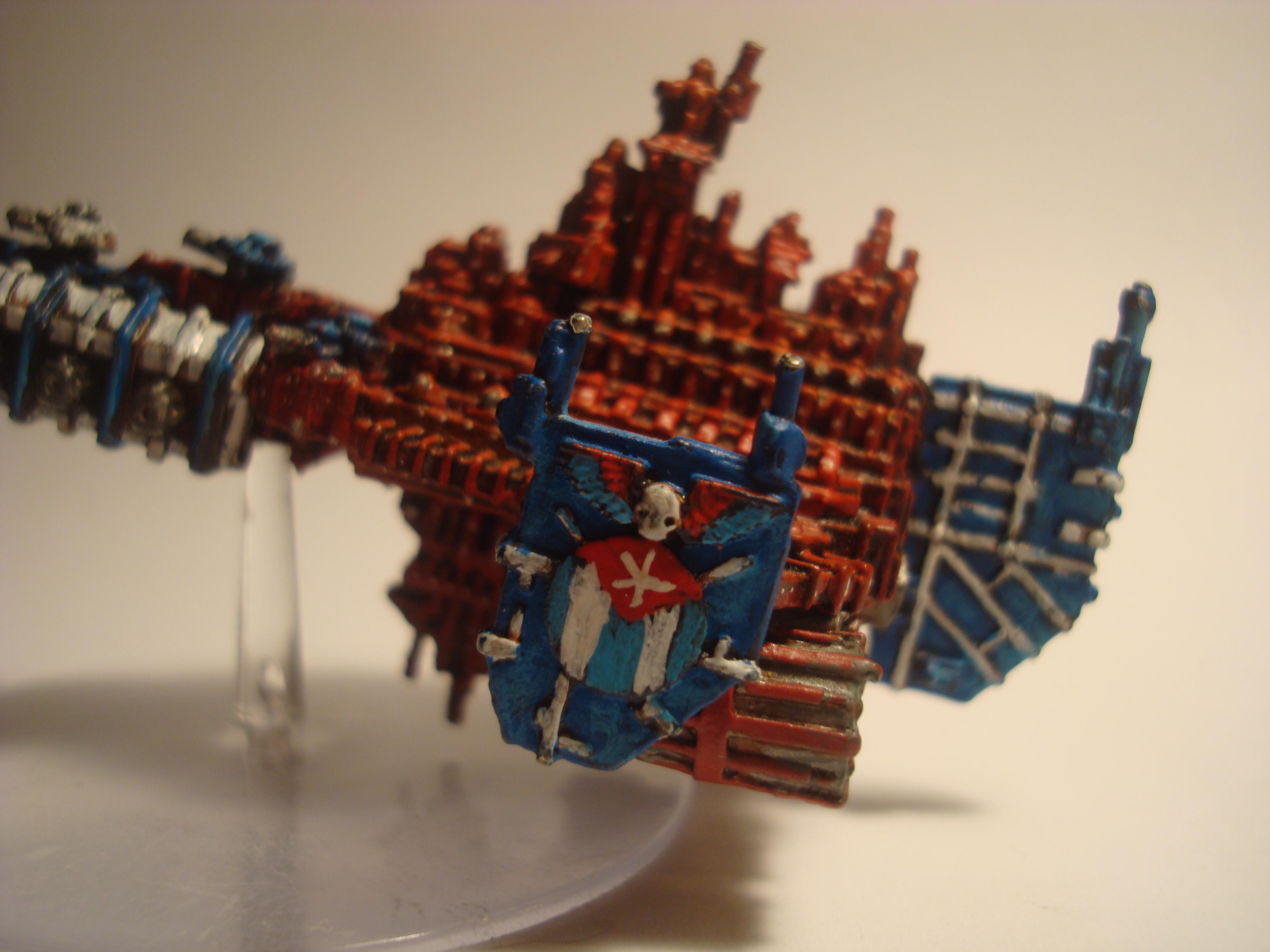 Battlefleet Gothic, BattleBarge Oriente (side)