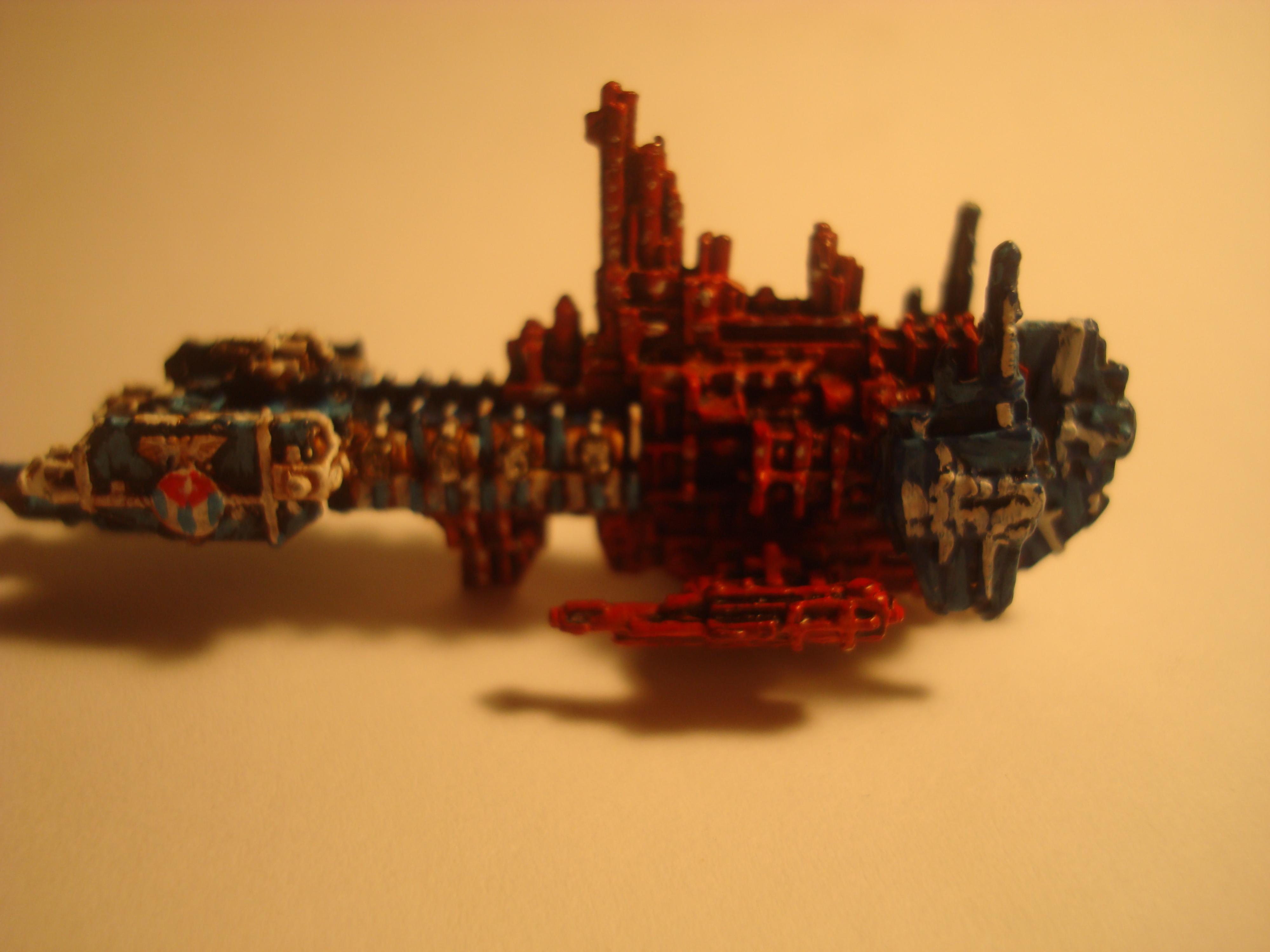 Battlefleet Gothic, Strike Cruiser Fuego
