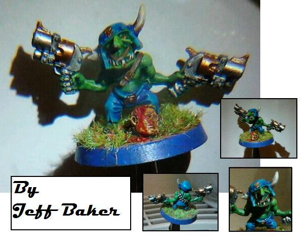 Barmy Bakers Miniatures, Gretchin, Orks