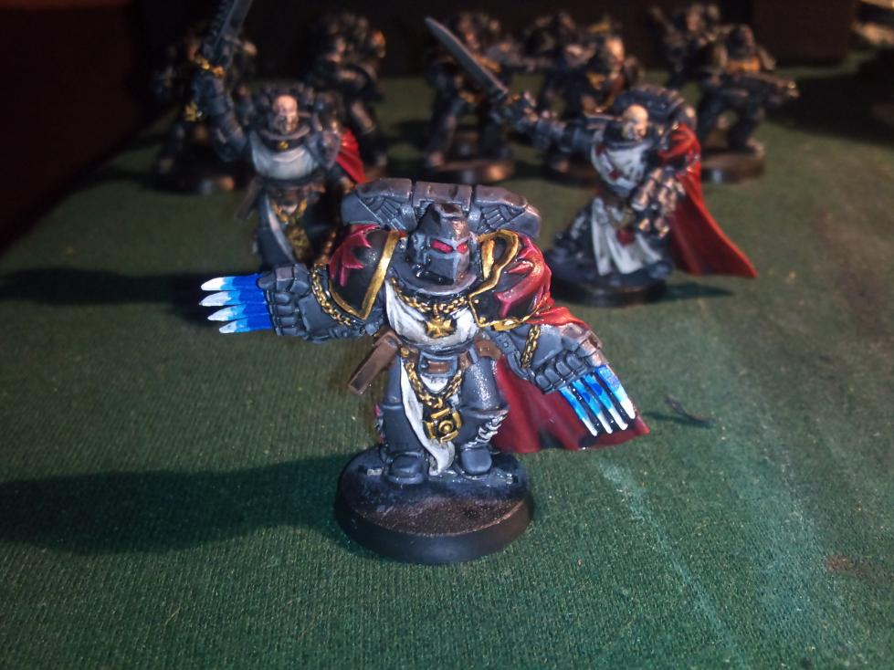 Black Templars, Lighling Claws, Object Source Lighting, Space Marines