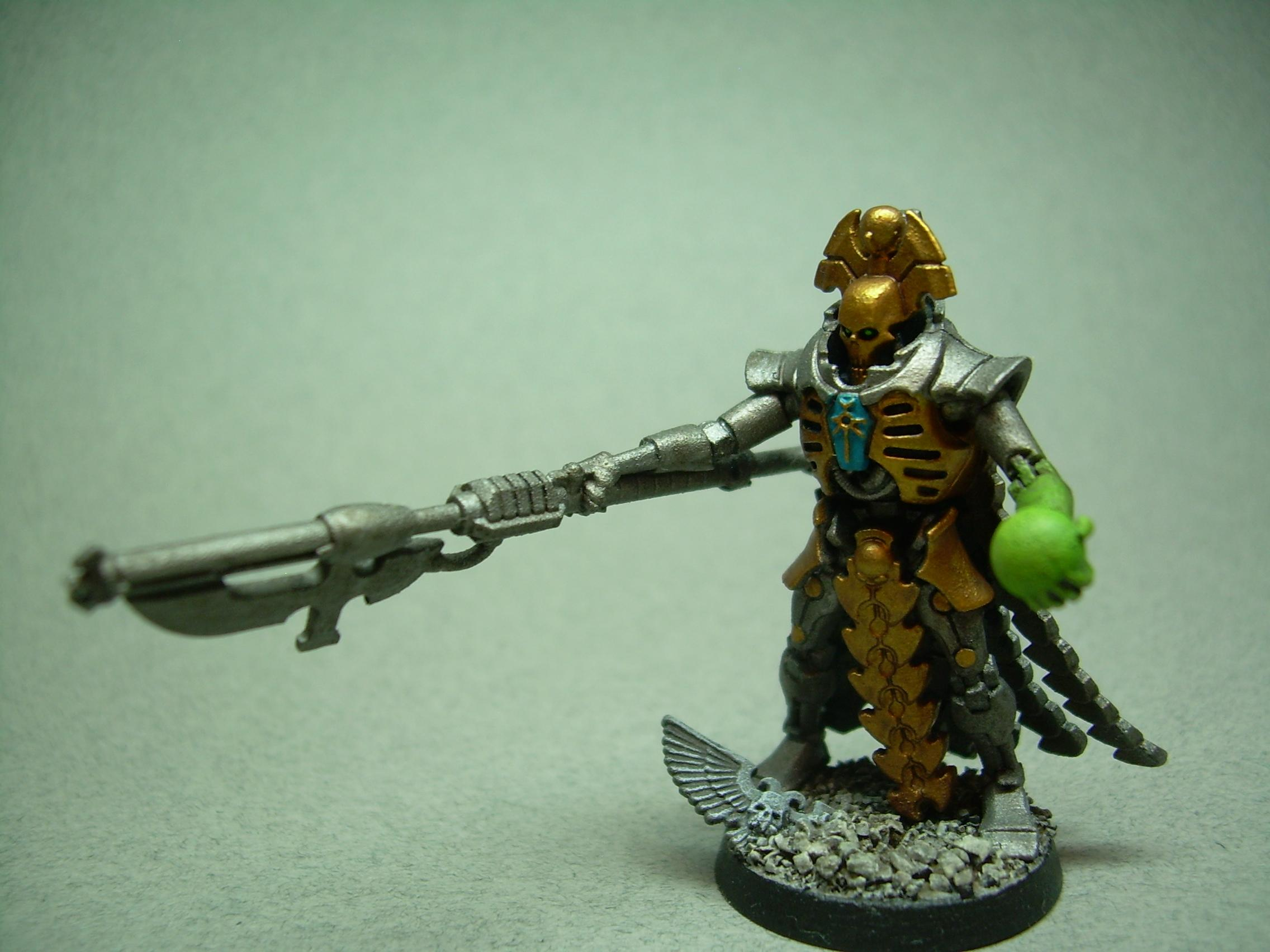 Necron Lord, ...or the royal court from my necrons, they just look mean