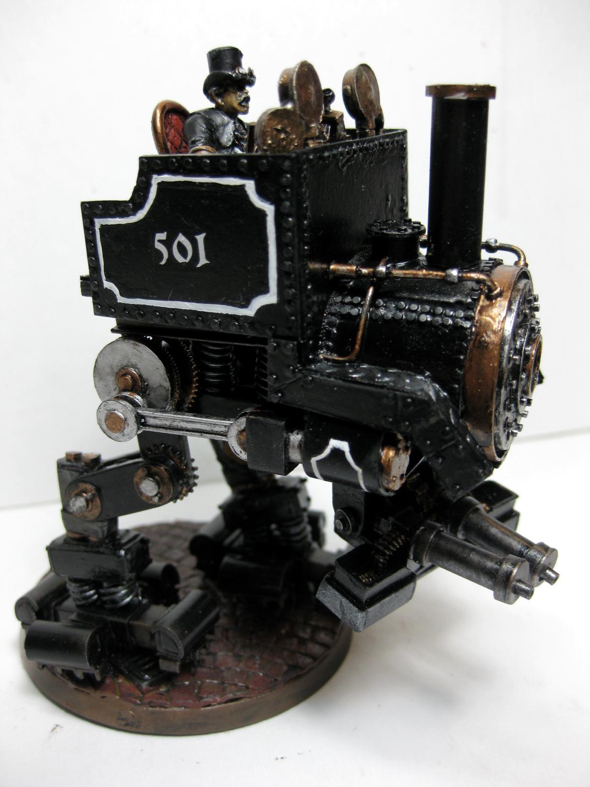 Sentinel, Steampunk, Steampunk Sentinel Wip, Train