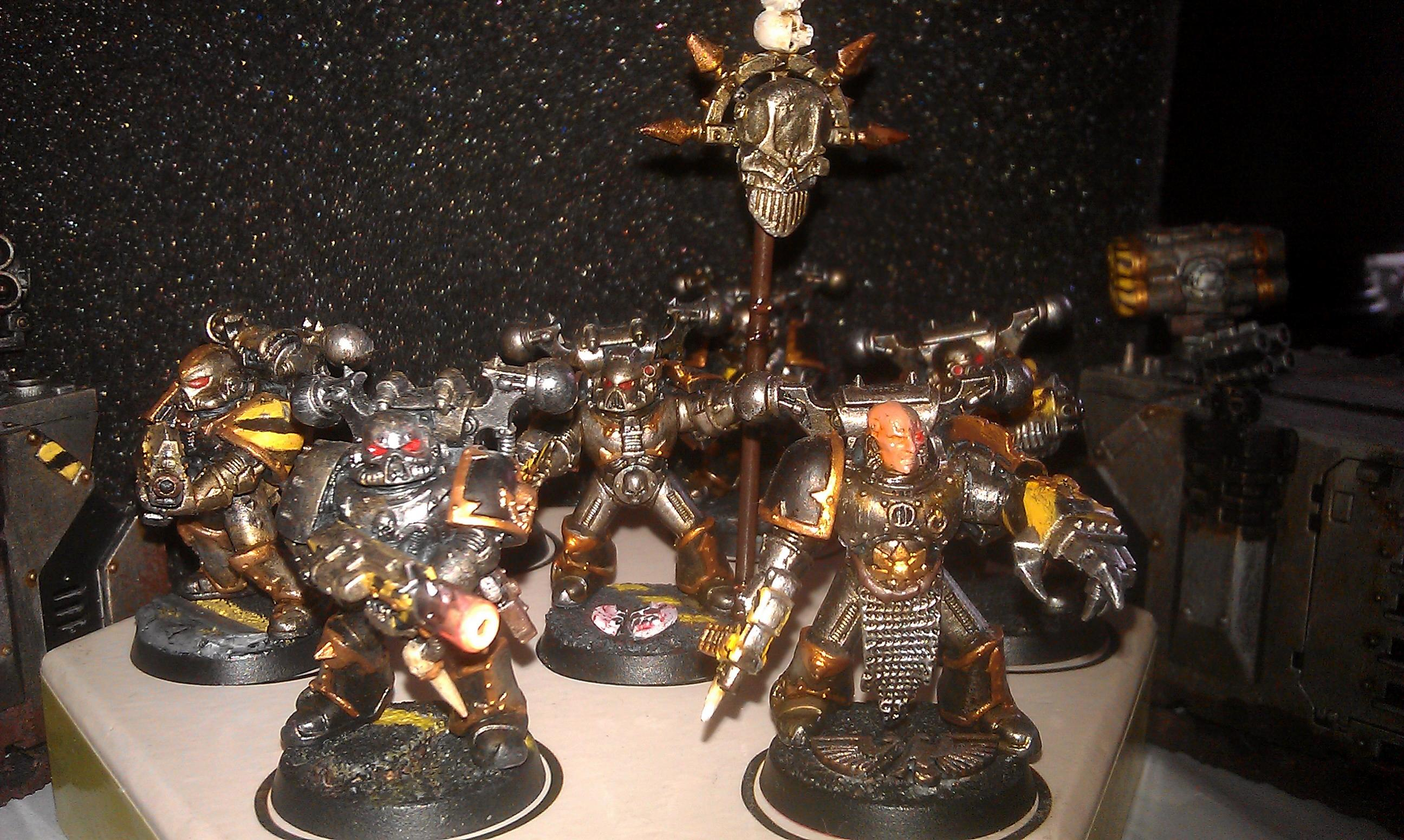 Chaos Space Marines, Iron Warriors