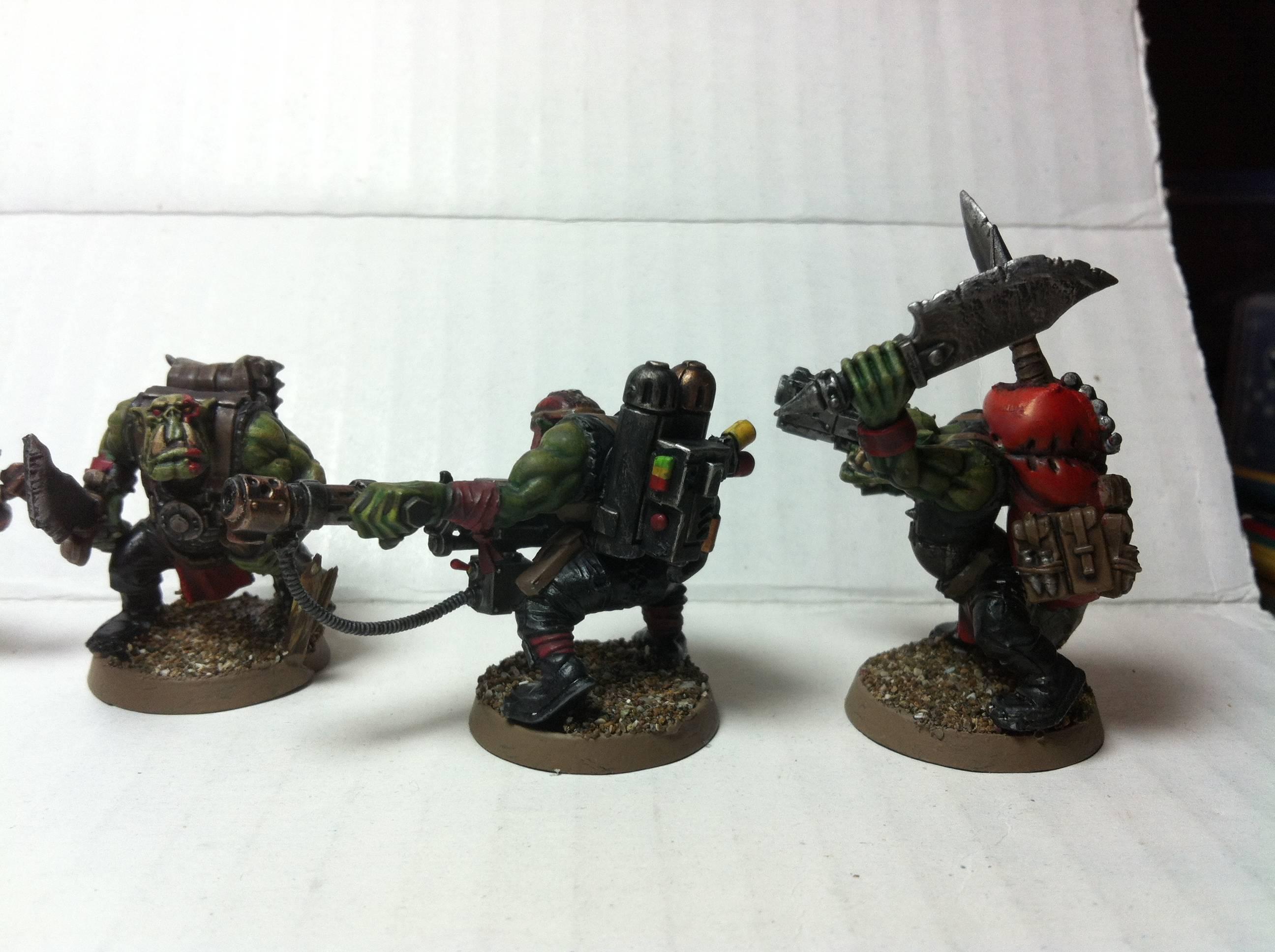 Conversion, Kitbash, Kommando, Orks