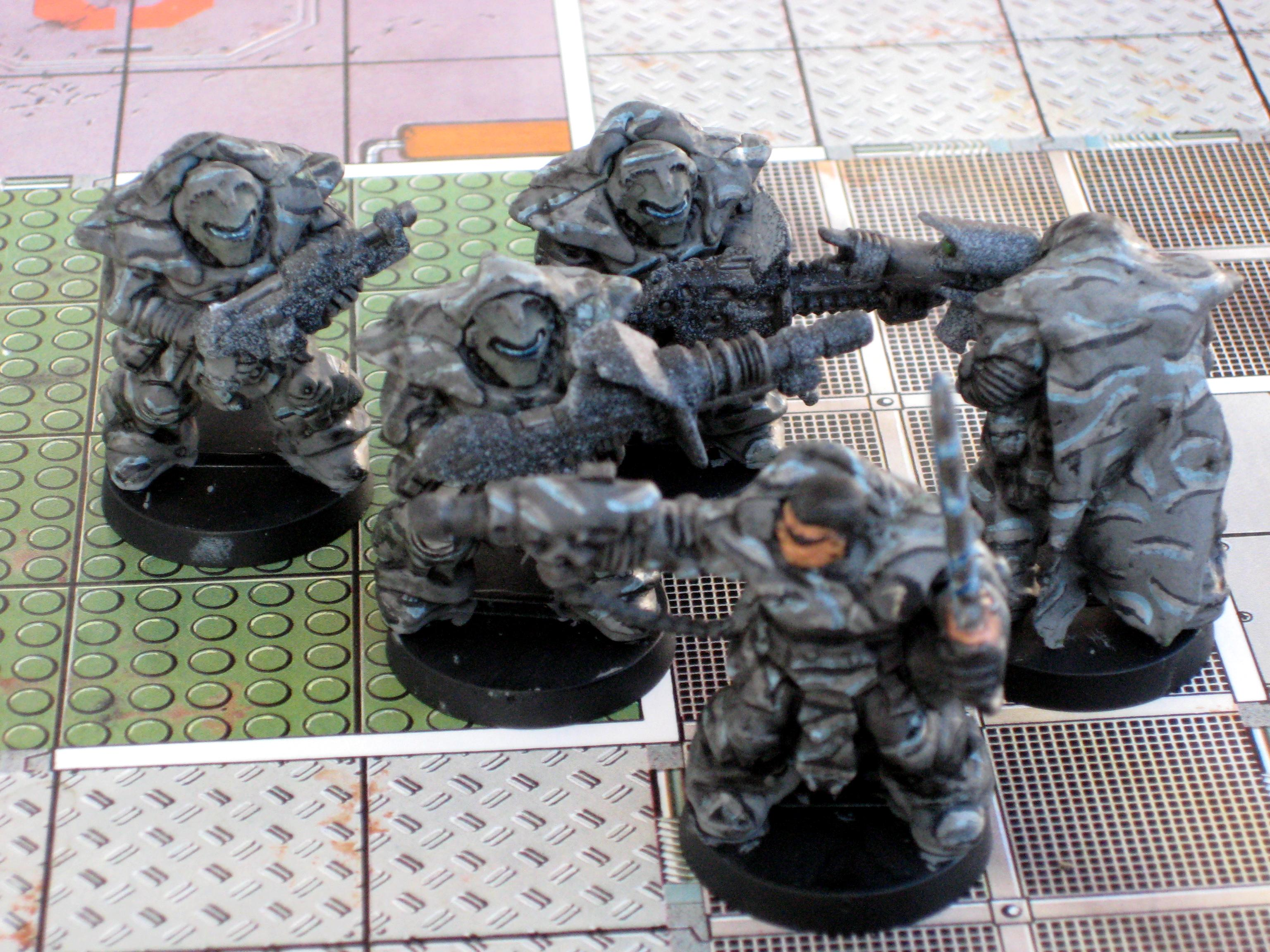 Camouflage, Green Stuff Cloak, Space Rangers