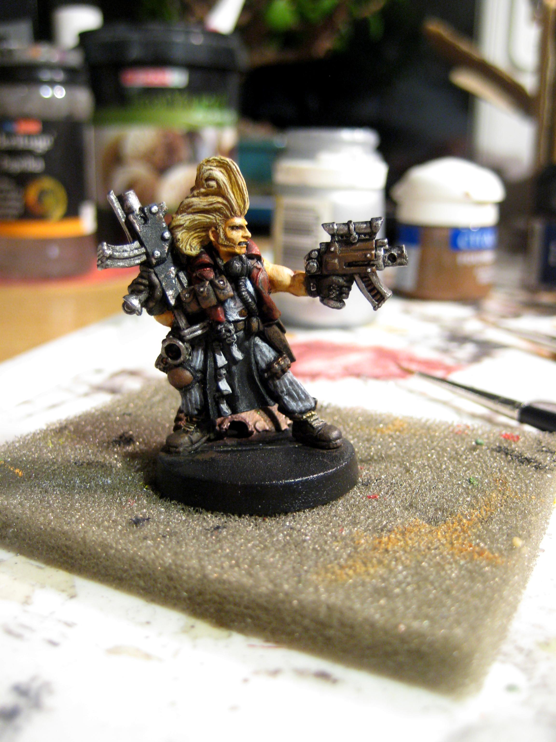 Bounty Hunter, Hired Gun, Necromunda