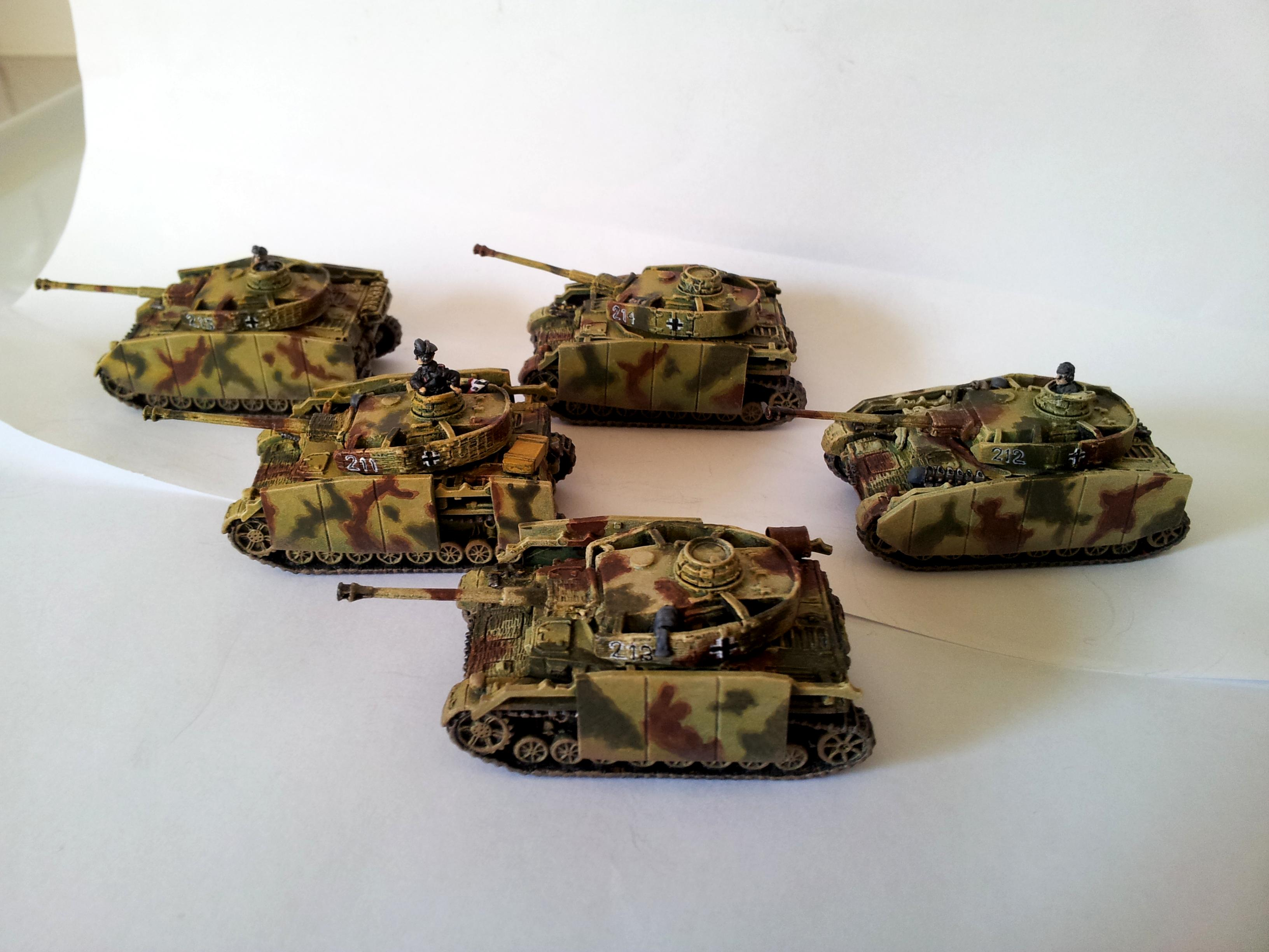 Flames Of War, German Tanks, Panzer, Panzer Iv