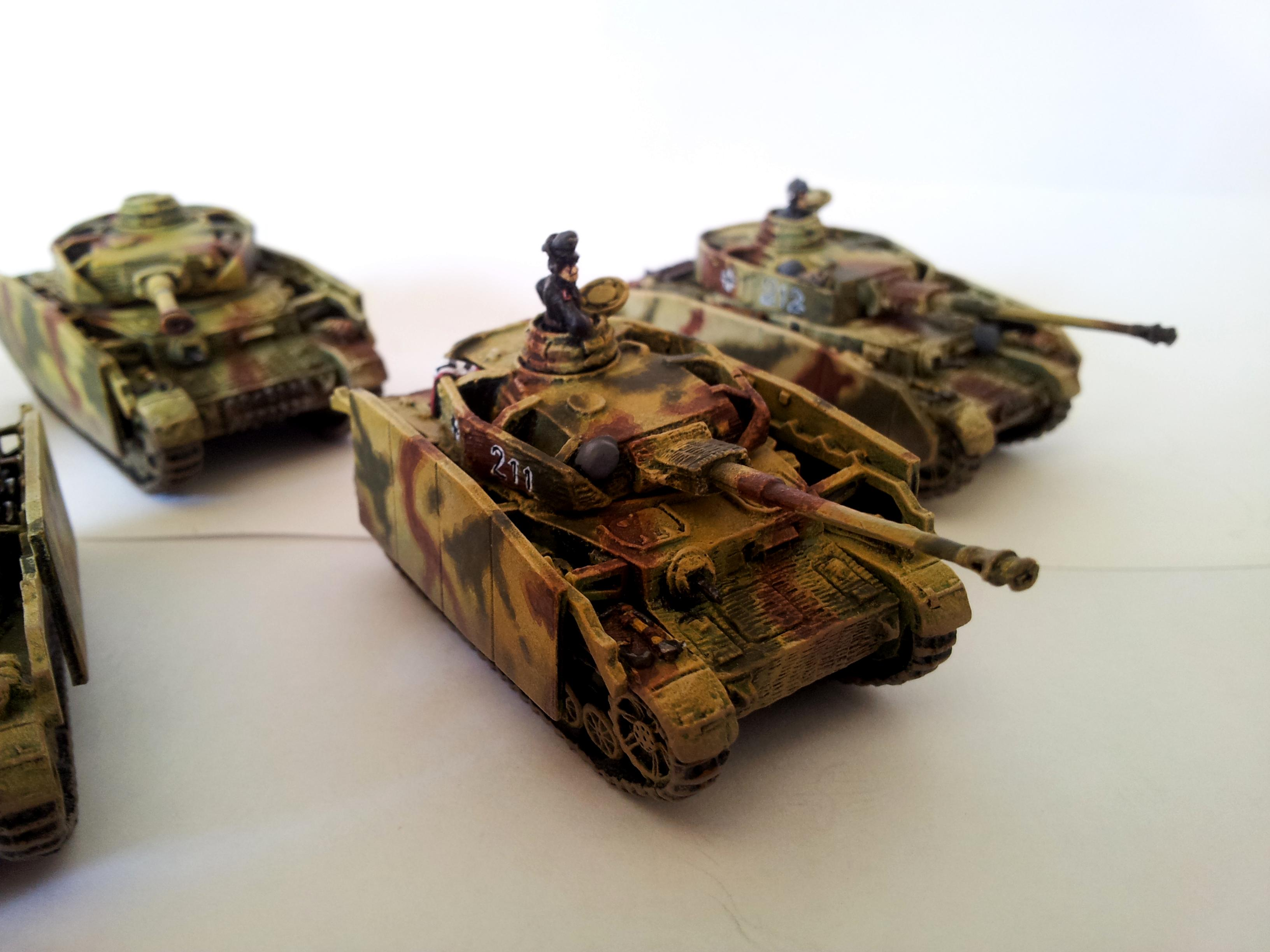 Flames Of War, German Tanks, Panzer, Panzer Iv