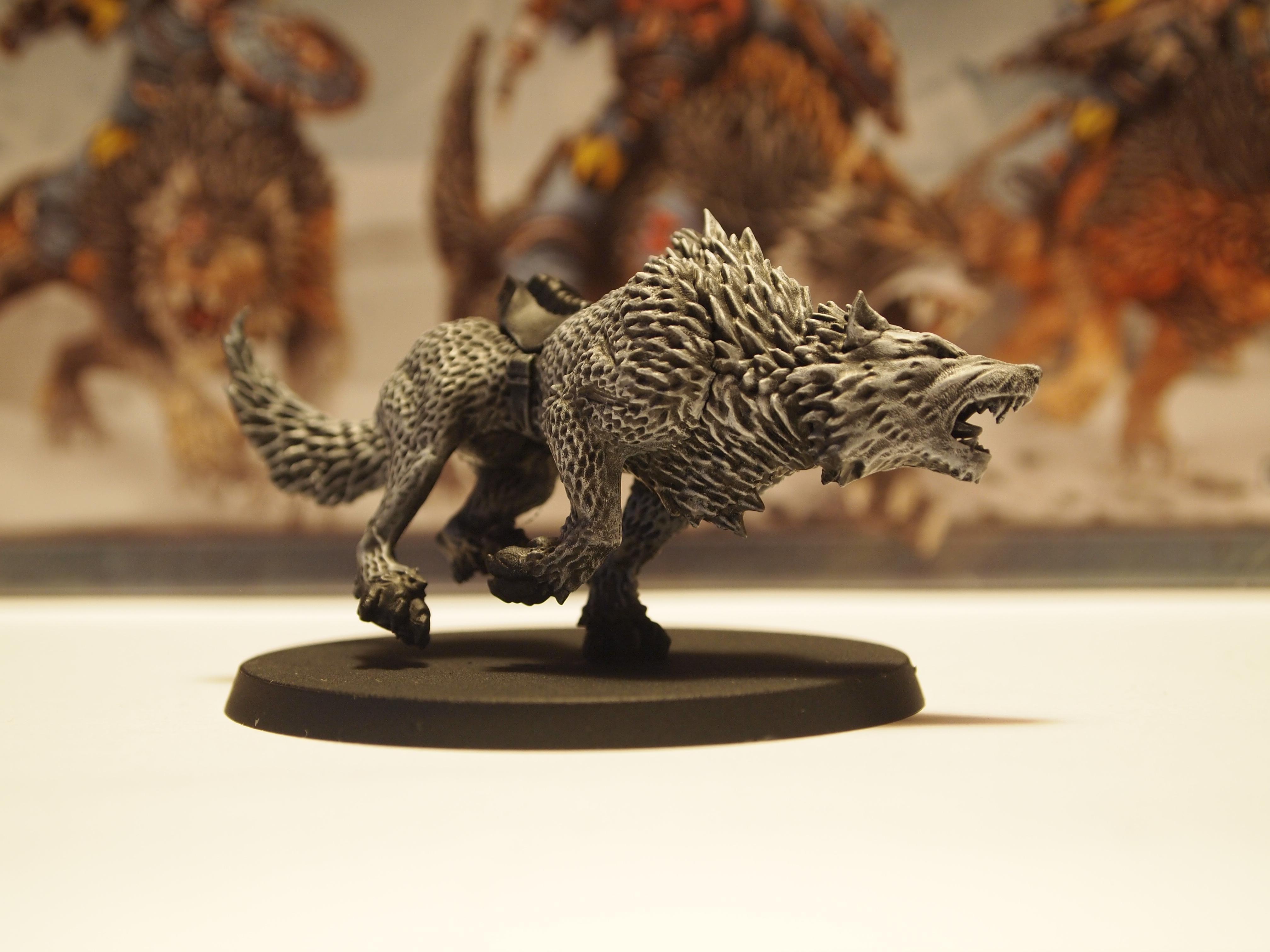 First Thunderwolf, still not ready