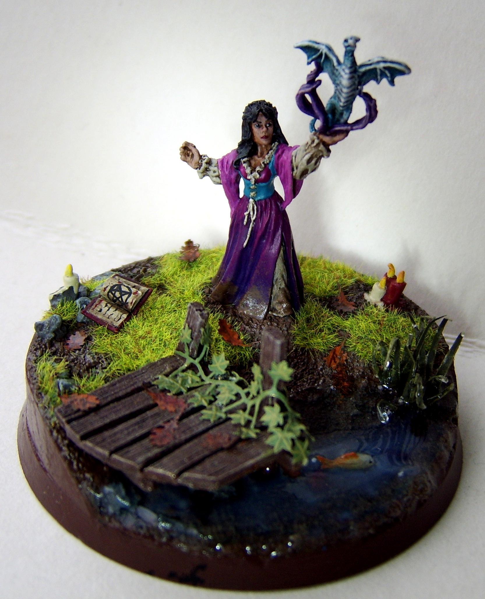 Dragon, Elves, Reaper, Reaper Miniatures, Water Effect