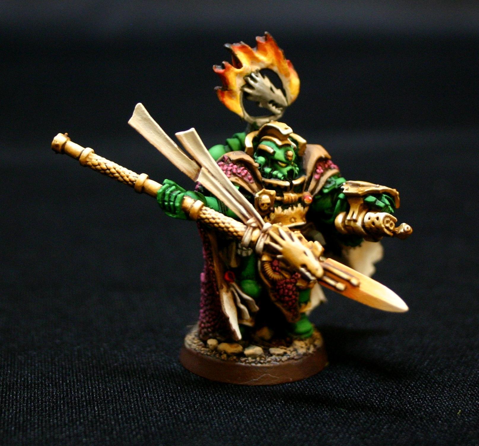 He'stan, Salamanders, Space Marines, Vulkan, Warhammer 40,000