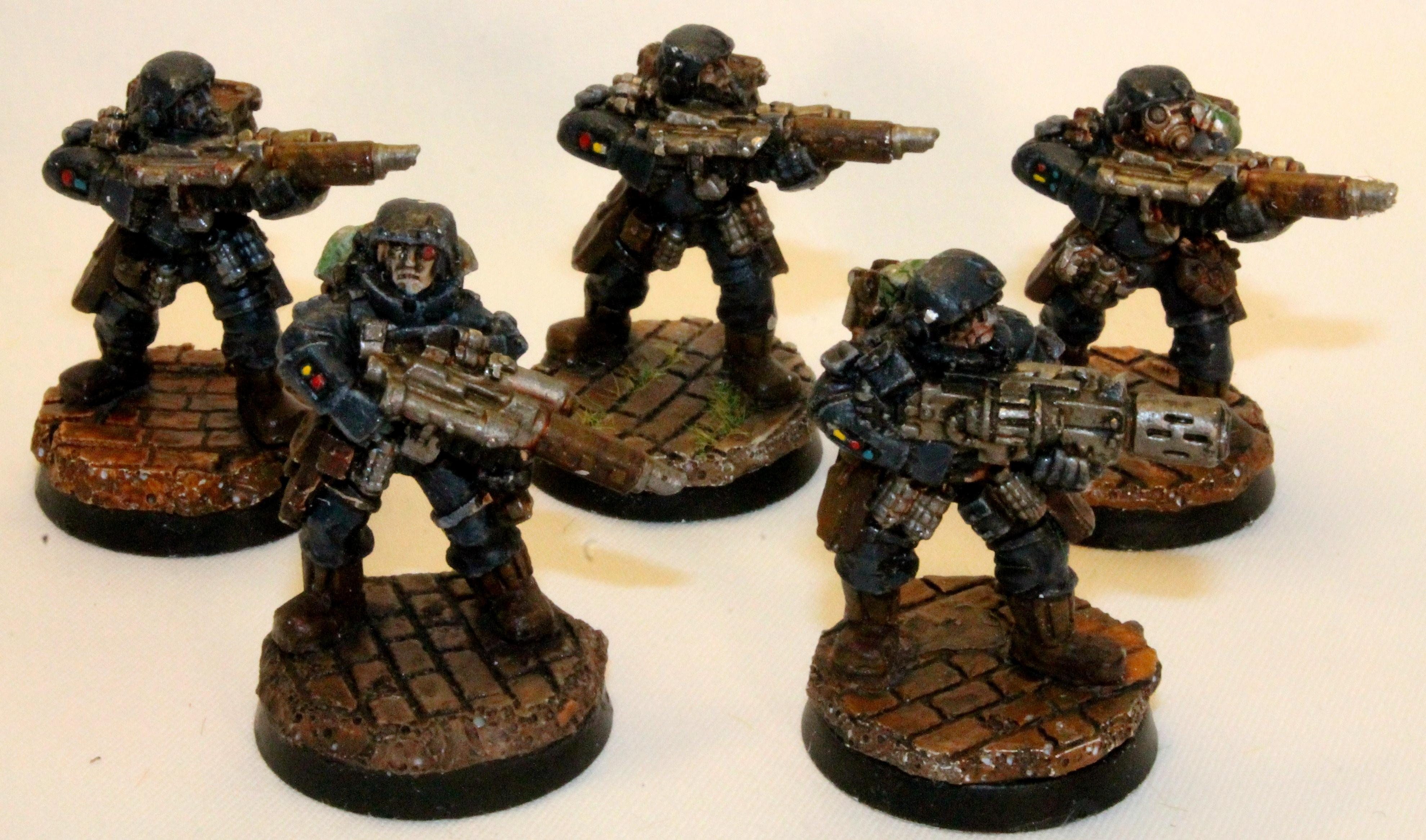 Gk, Grey Knights, Henchmen