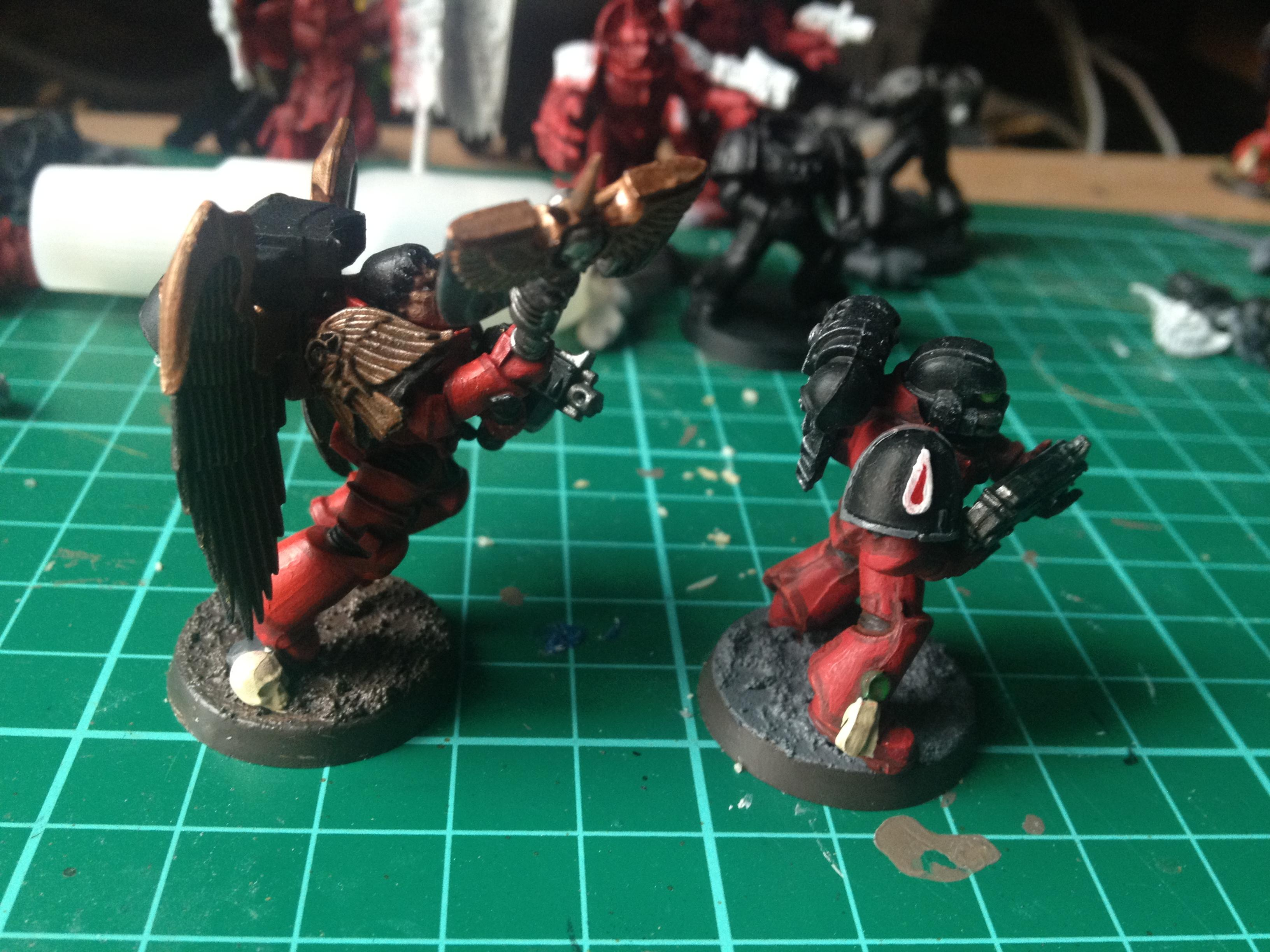 Blood Angels, Flesh Tearer, Sanguinary Guard, Work In Progress