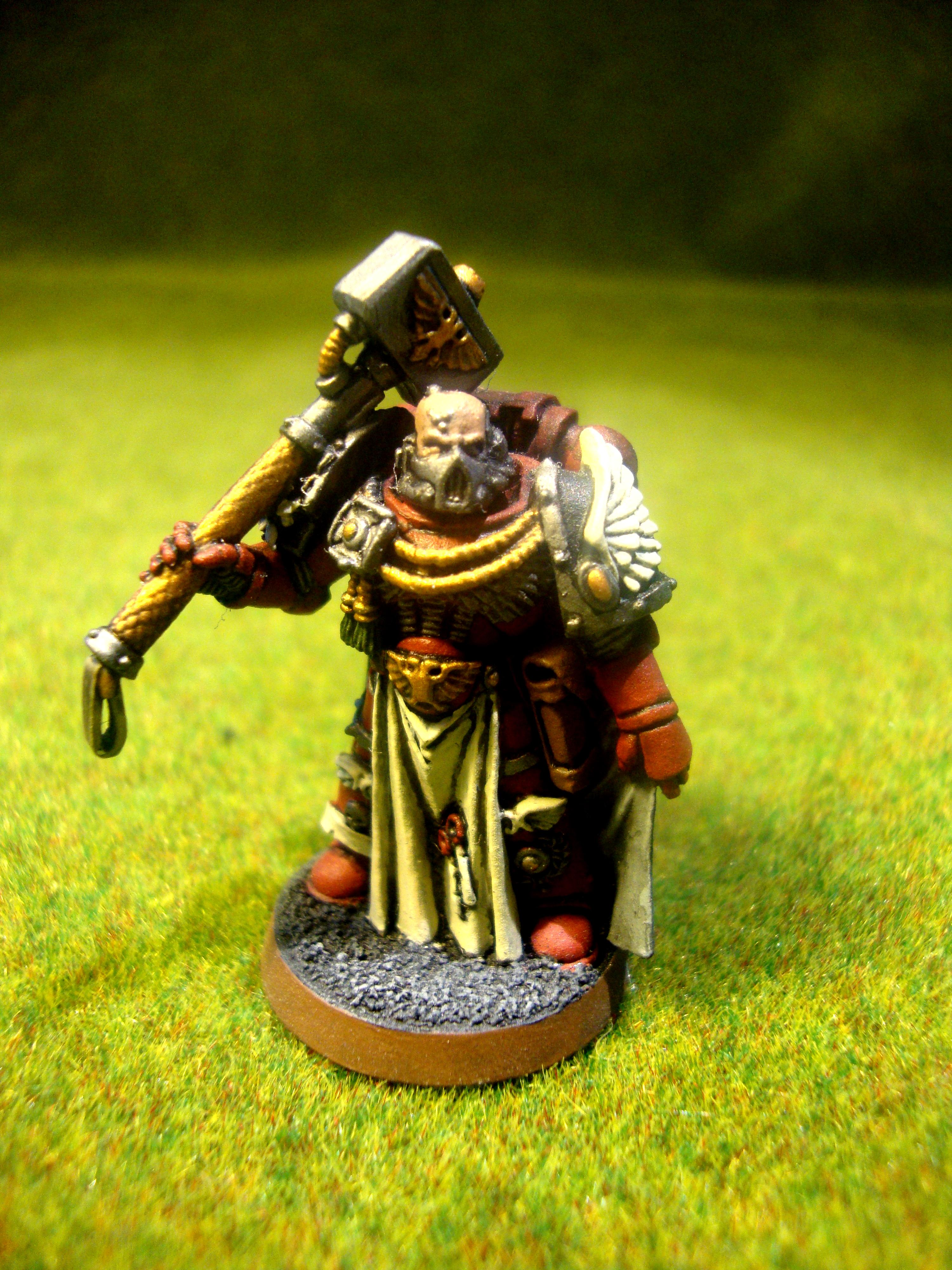 Chapter Master, Headquarters, Space Marines, Warhammer 40,000