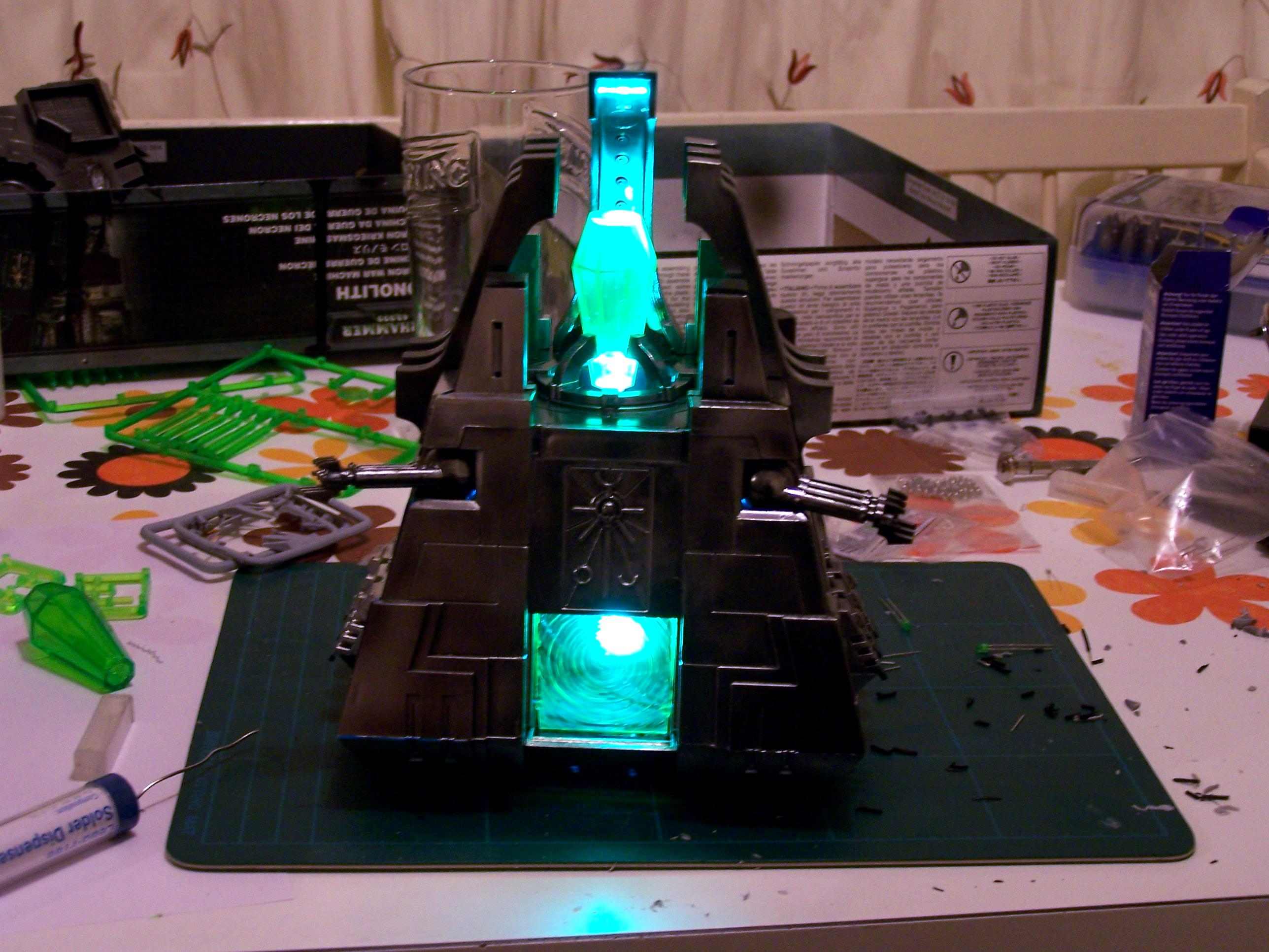 Led Wired, Monolith, Necrons