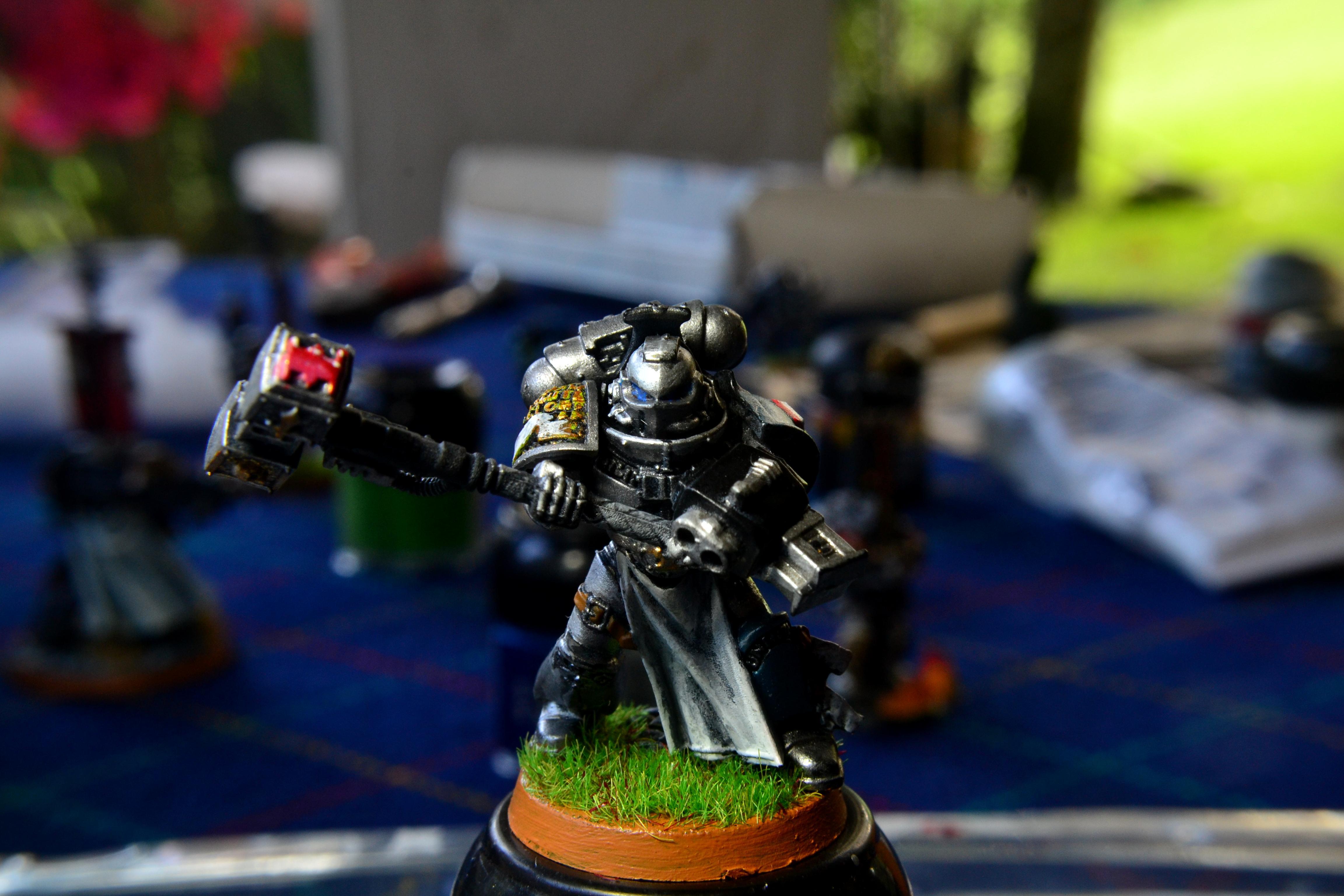 Deamonhammer, Gk, Grey Knights, Hammer, Justicar