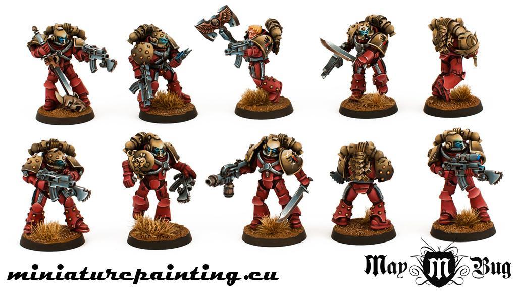 Blood Angels, Pre-heresy, Space Marines, Warhammer 40,000