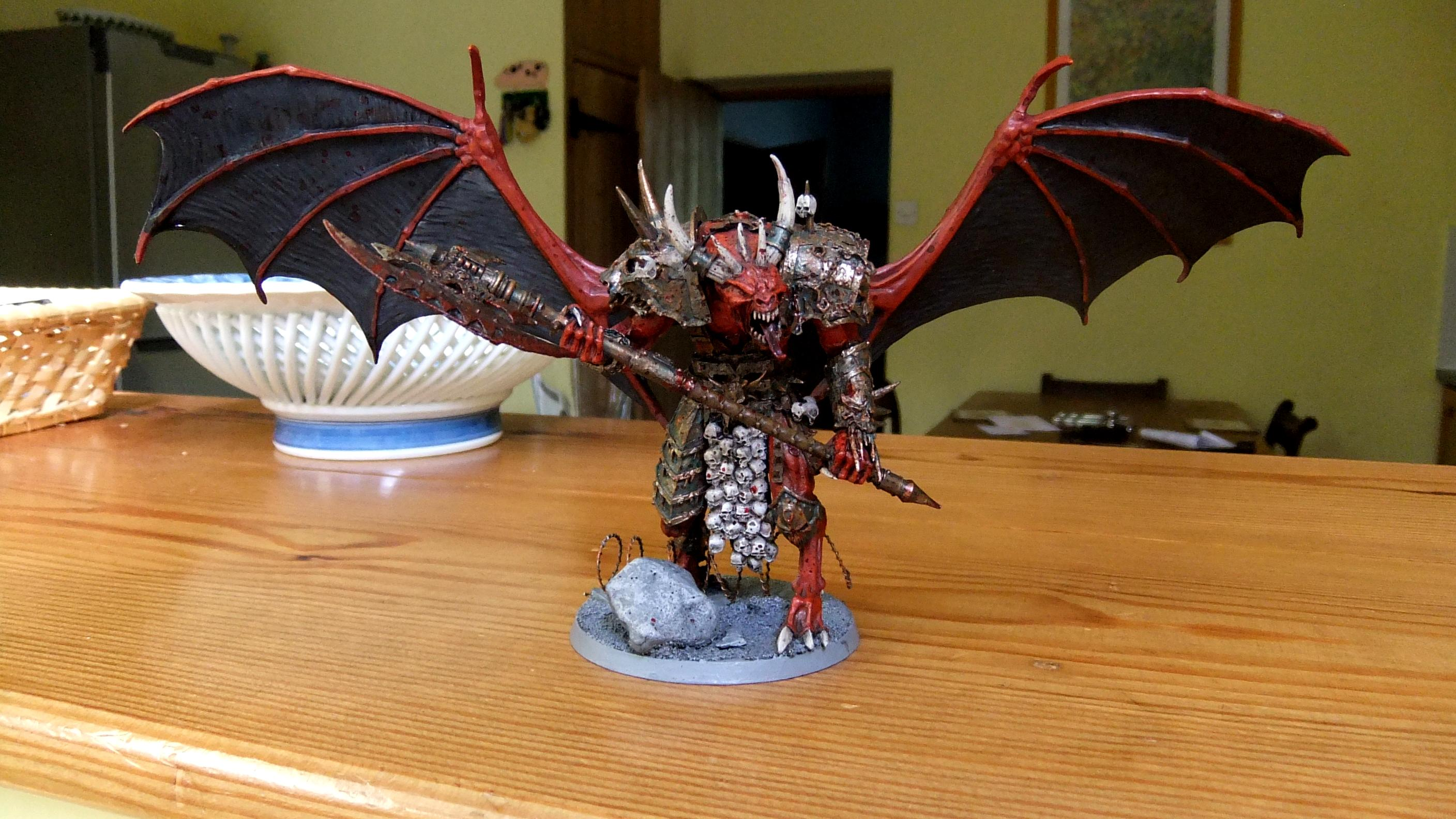 Bloodthirster, Daemons, Greater Daemon, Khorne