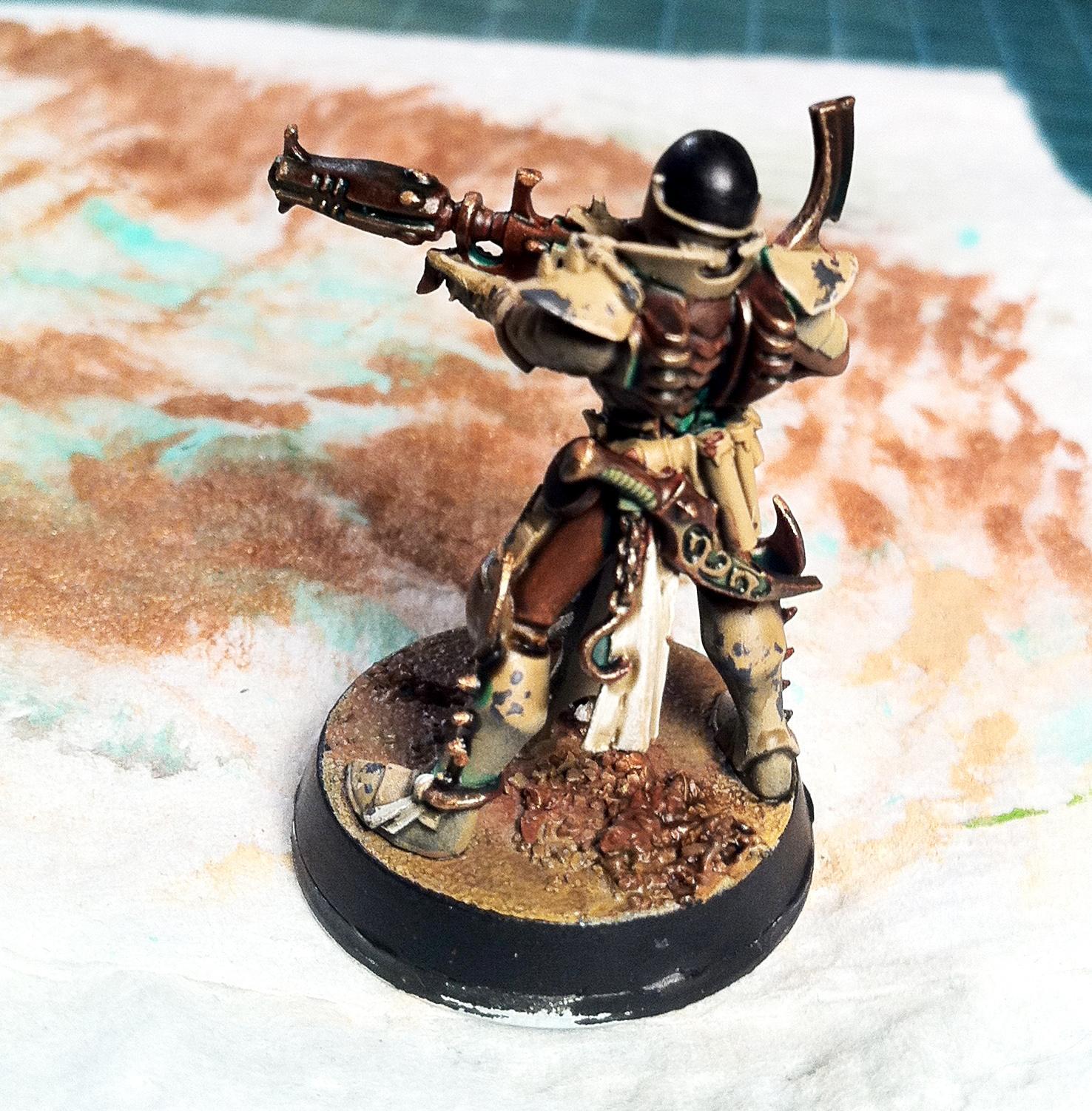 Dark Eldar, Kabalite, Warriors, Work In Progress