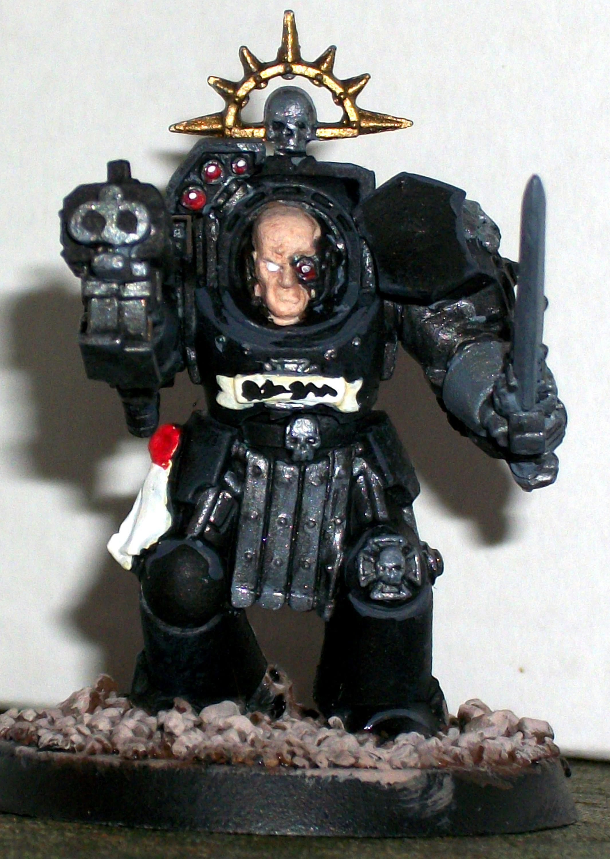 Captain, Dreadnought, Iron Hand, Iron Hands, Space Marines, Tactical Squad, Terminator Armor, Terminator Sergeant