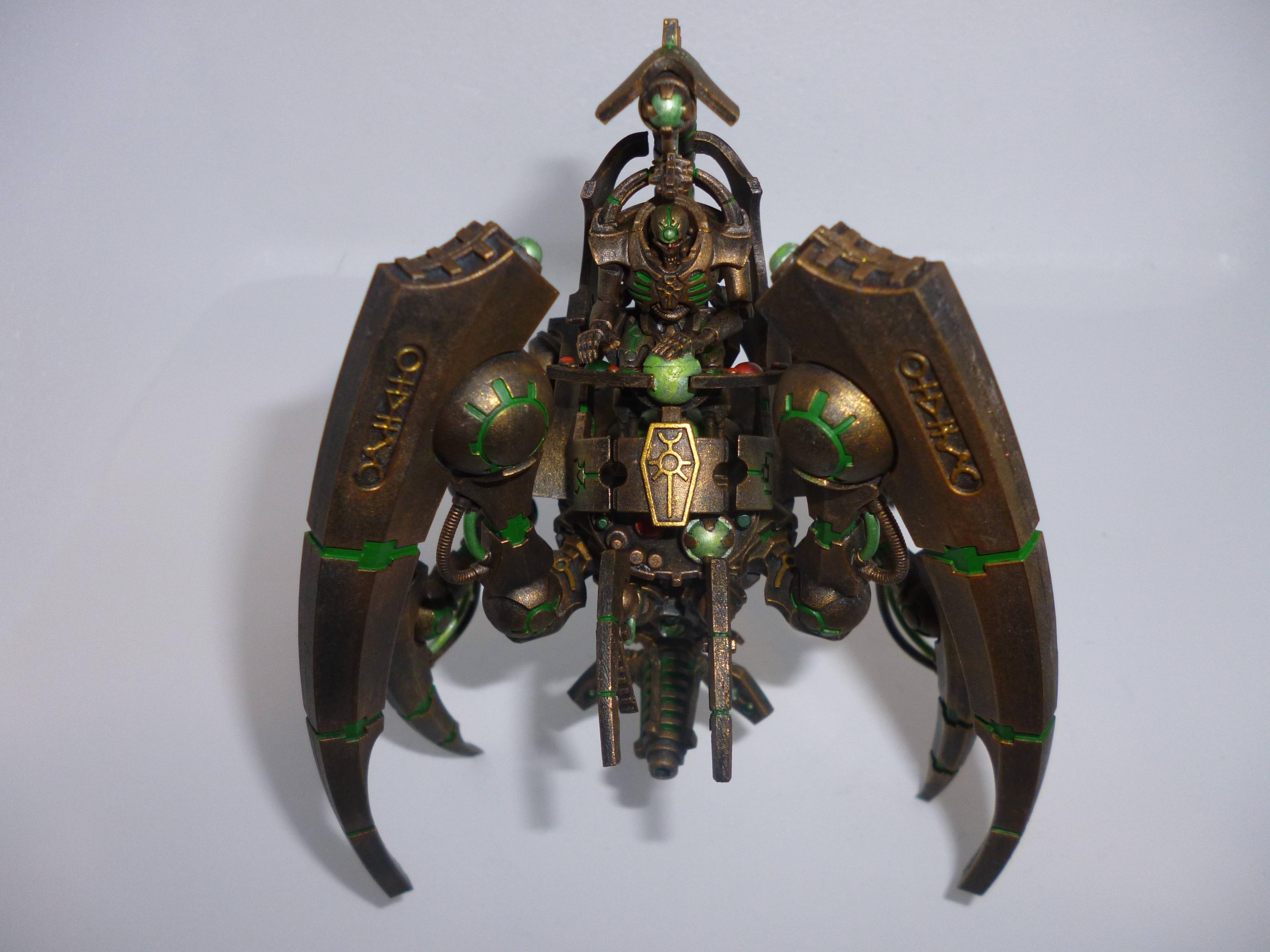 Bronzecrons, Crons, Necrons, Rust, Stalker, Triarch