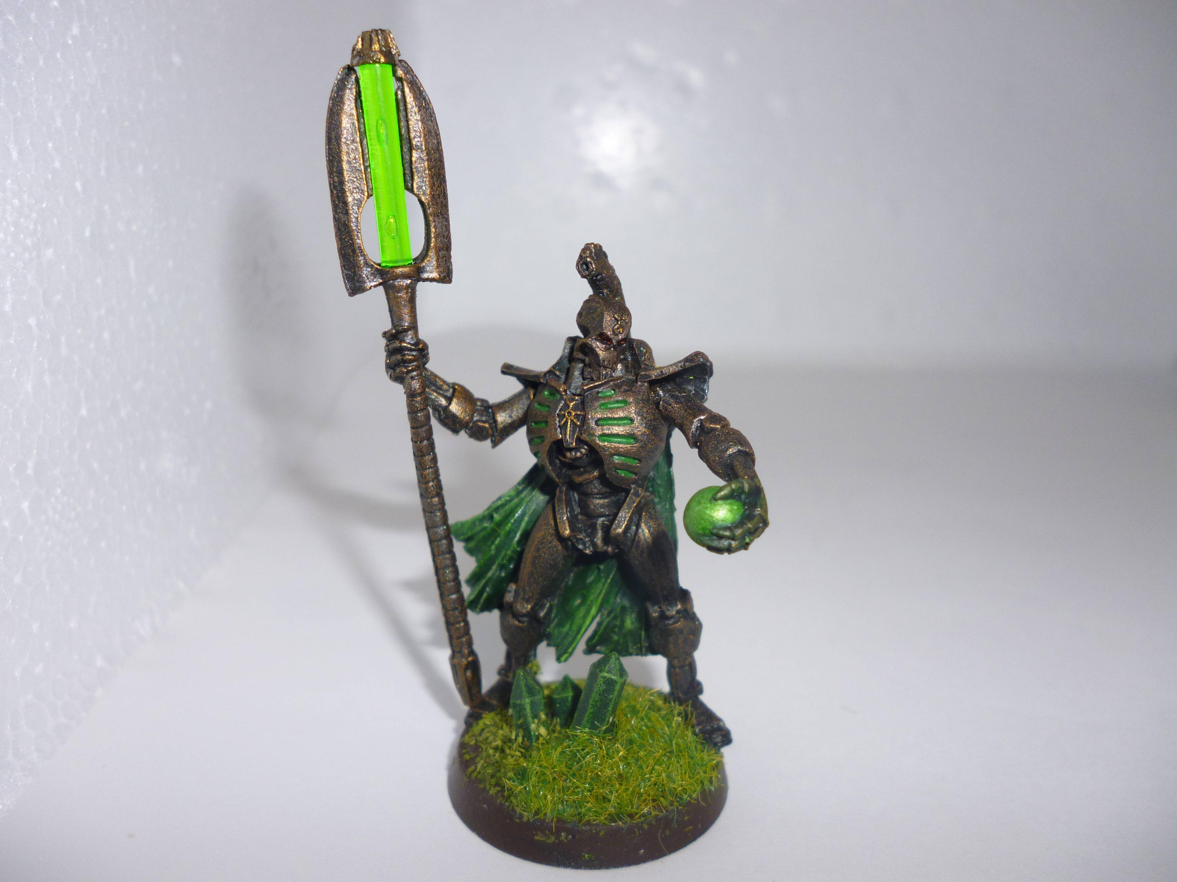 Bronzecrons, Crons, Lord, Necrons, Orb, Res, Rust