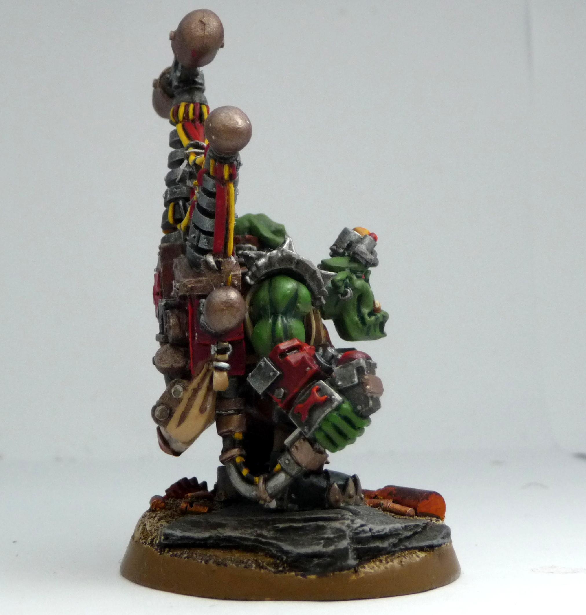 Evil Sunz, Ork Army, Red Orks, Work In Progress