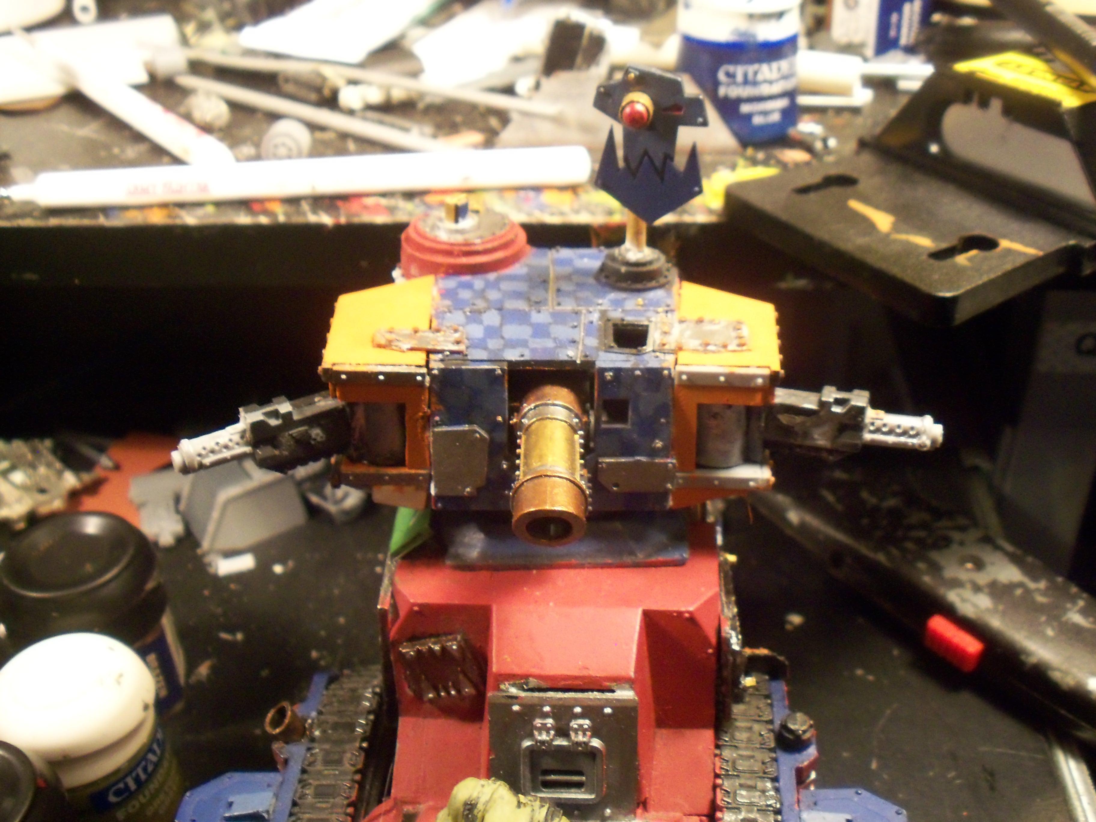 Ork turret sponsons