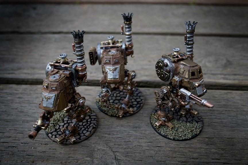 Imperial Guard, Sentinel, Steam Punk