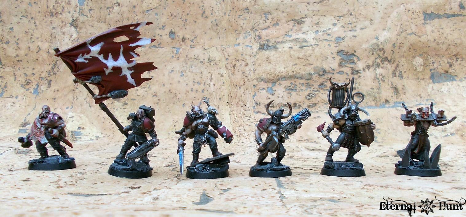 Chaos, Conversion, Marauders, Platoon Command Squad, Renegade Militia, Renegades, Traiitors, Traitor Guard, Traitor Ig, Undivided, Urash, Warhammer 40,000