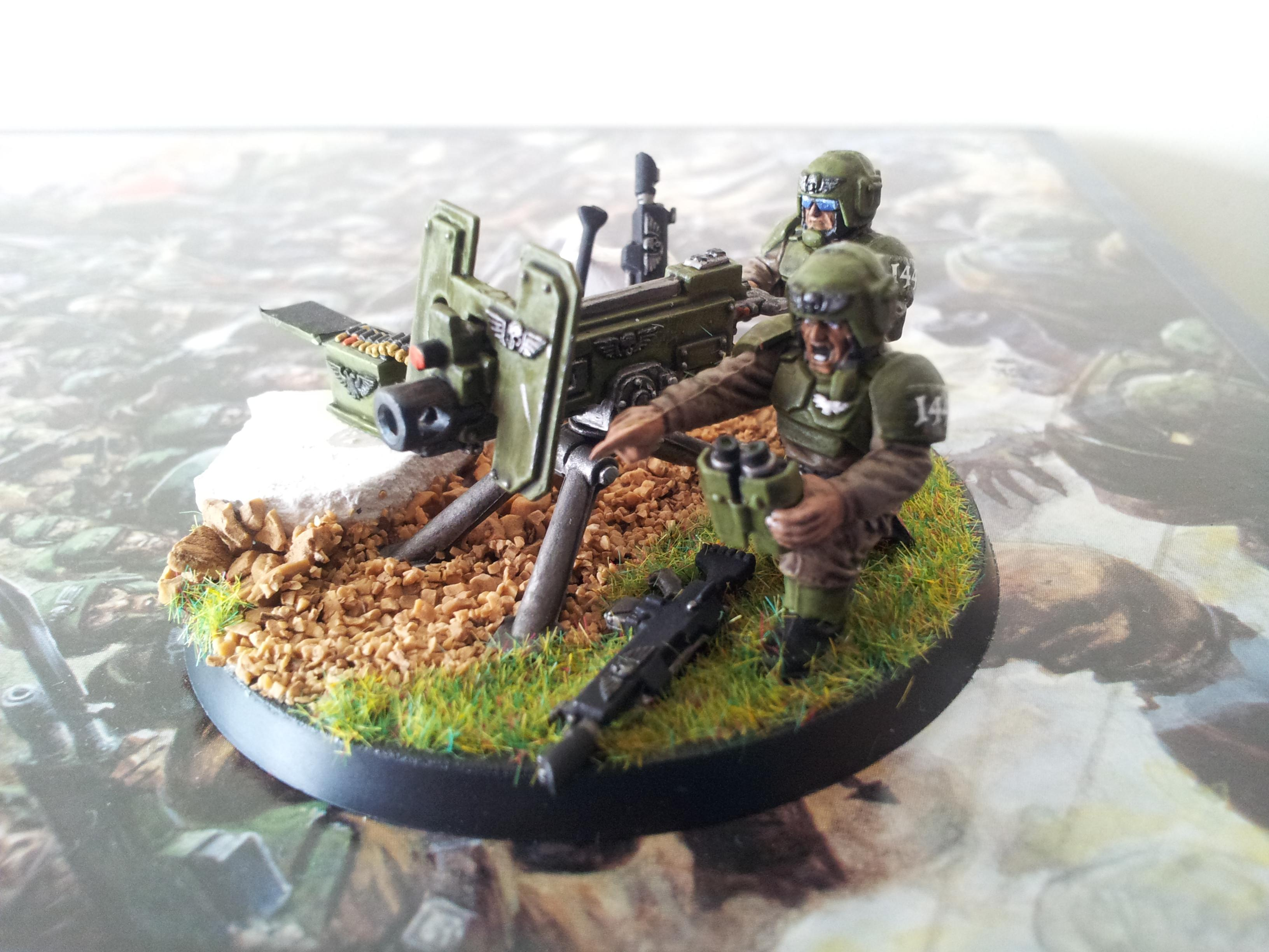 Astra Militarum, Cadians, Heavy Weapon, Imperial Guard
