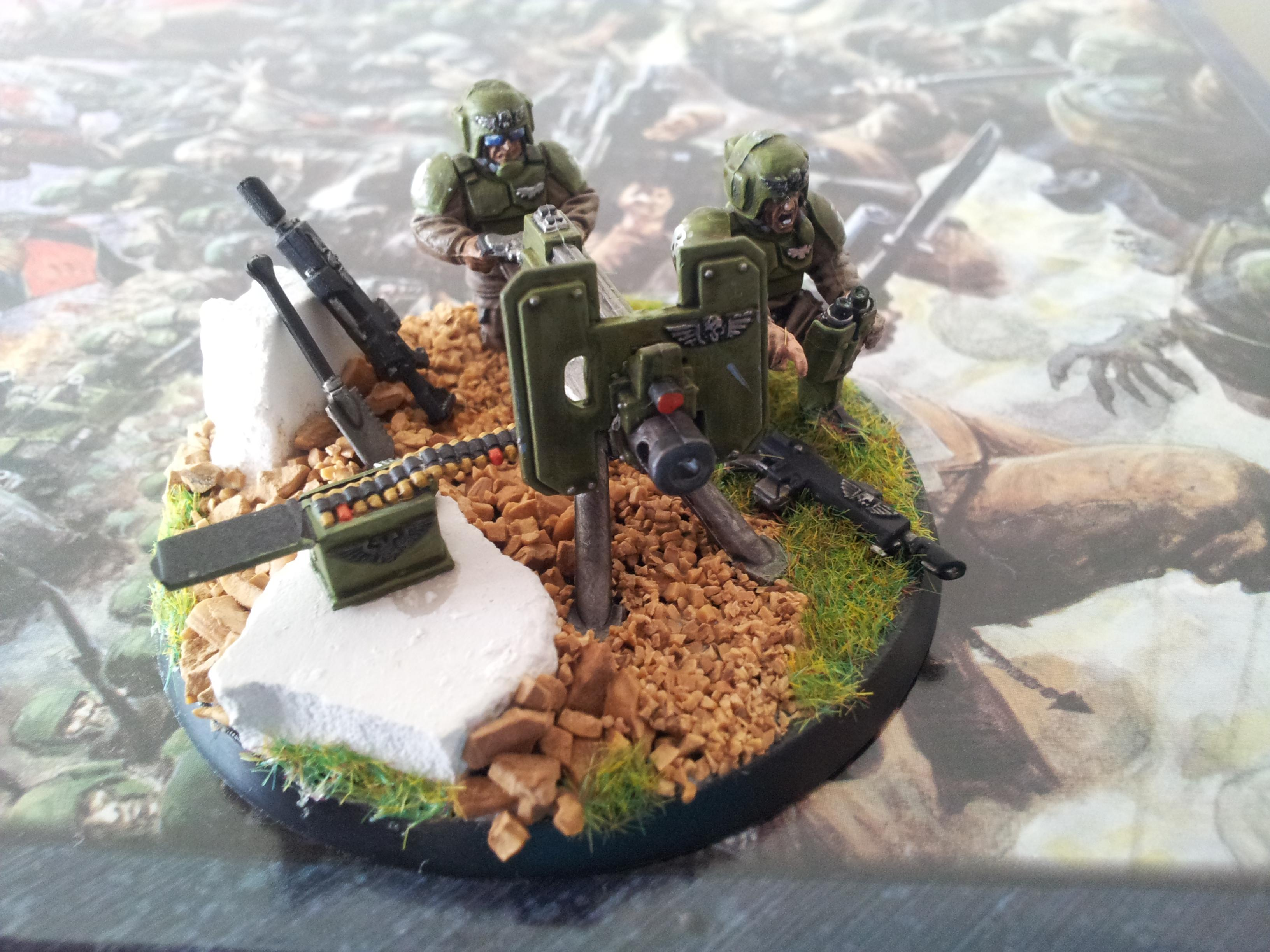 Astra Militarum, Cadians, Heavy Weapons Team, Imperial Guard