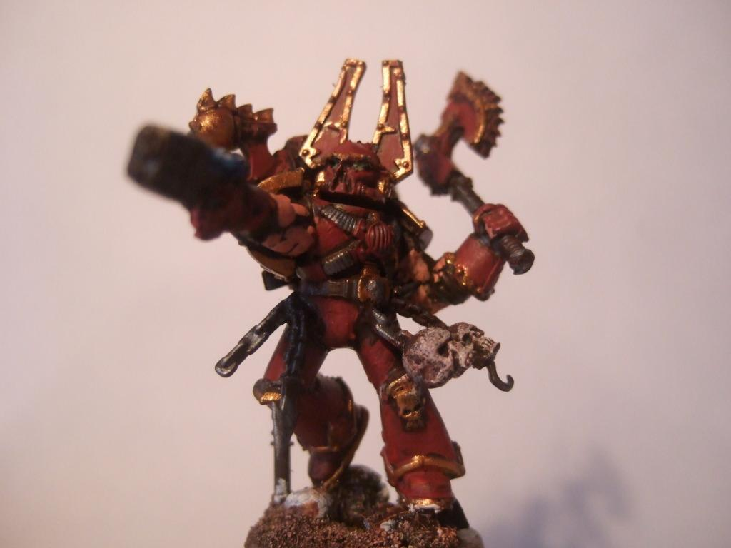 Chaos Space Marines, Khorne World Eaters, Warhammer 40,000