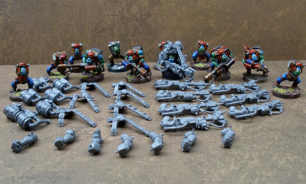 Burna Boyz, Burnas, Orks, Warhammer 40,000, Work In Progress